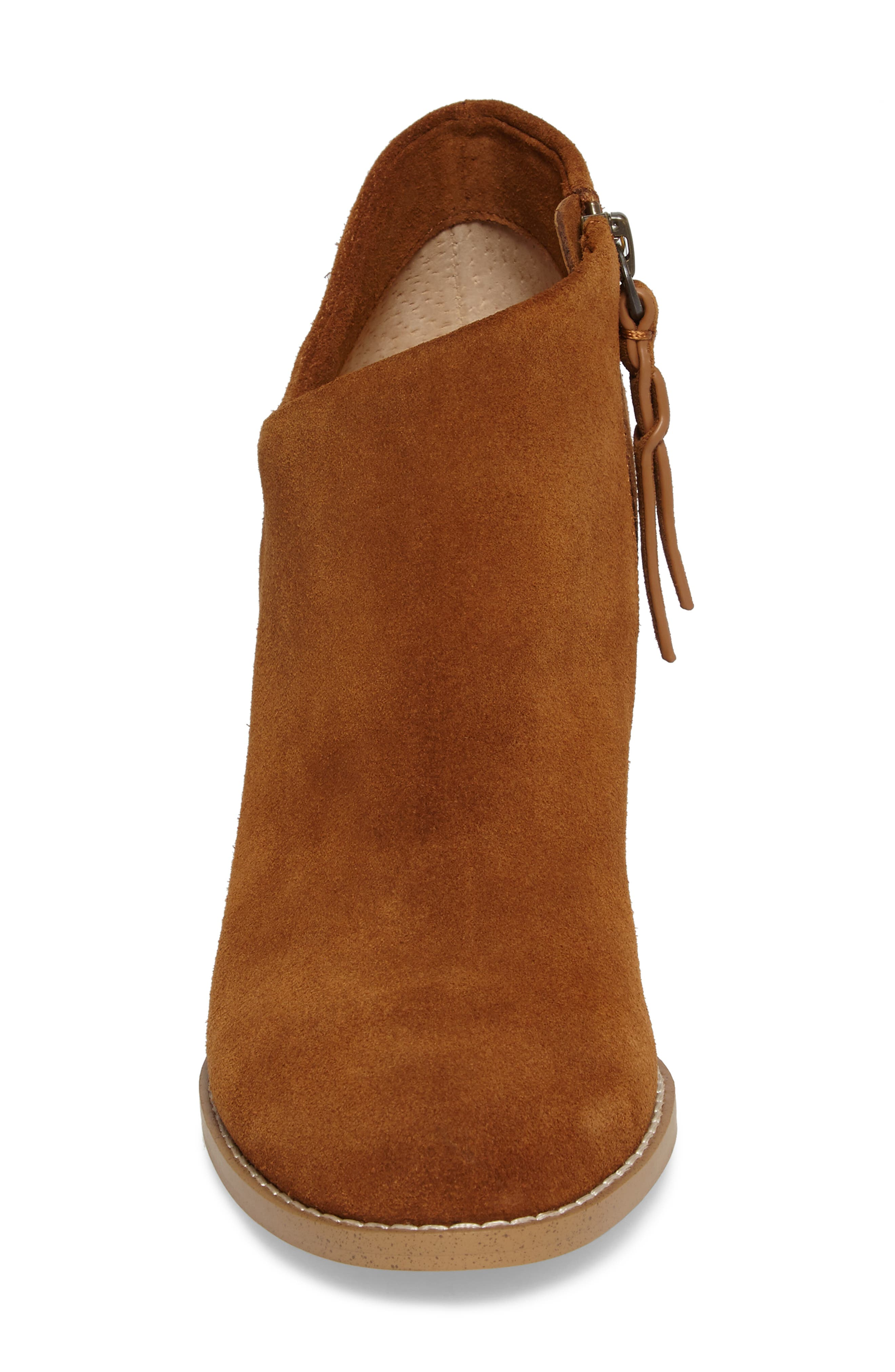 Daphne Bootie,                             Alternate thumbnail 4, color,                             Whiskey Suede