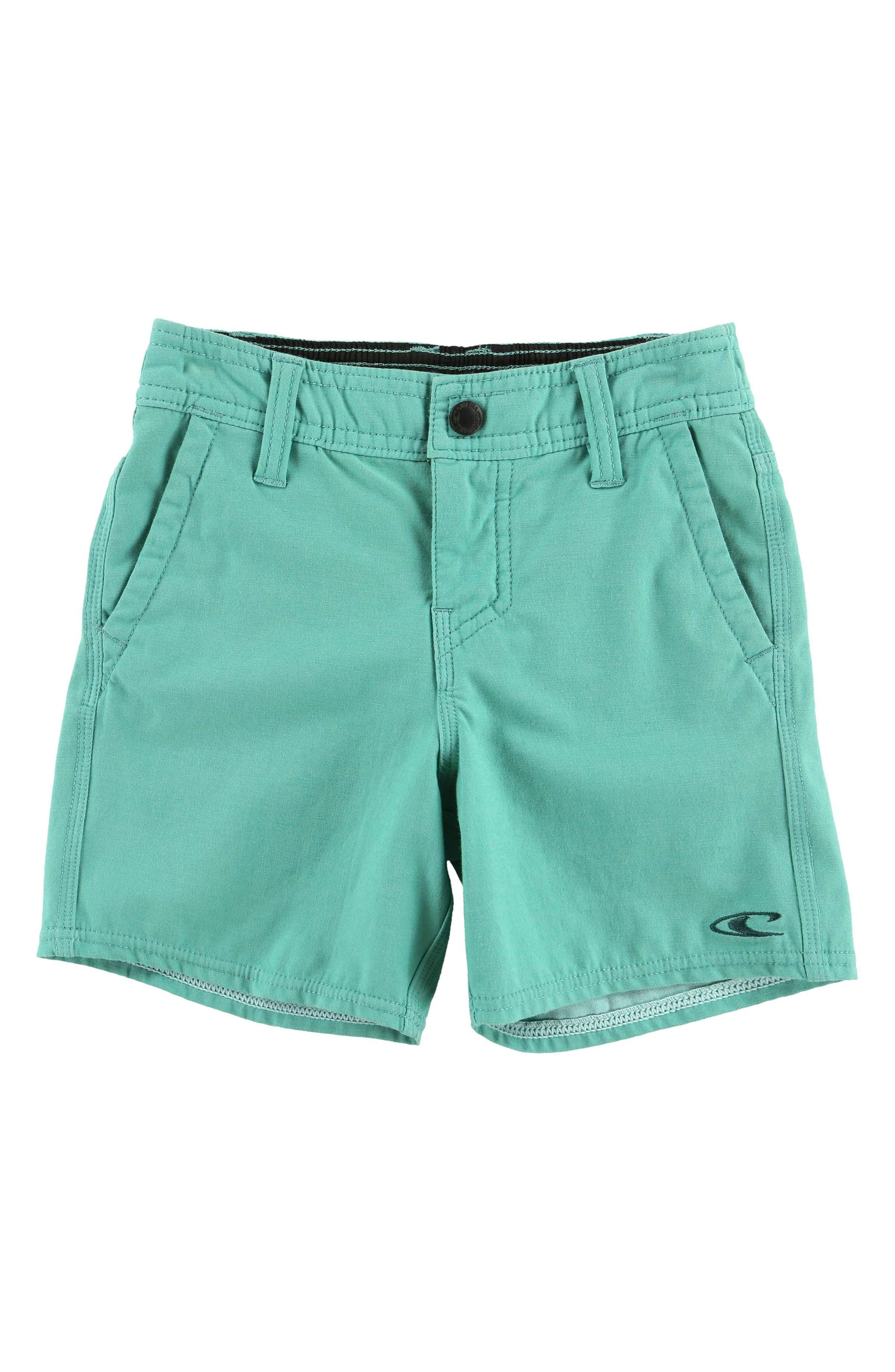 Locked Hybrid Board Shorts,                         Main,                         color, Jade
