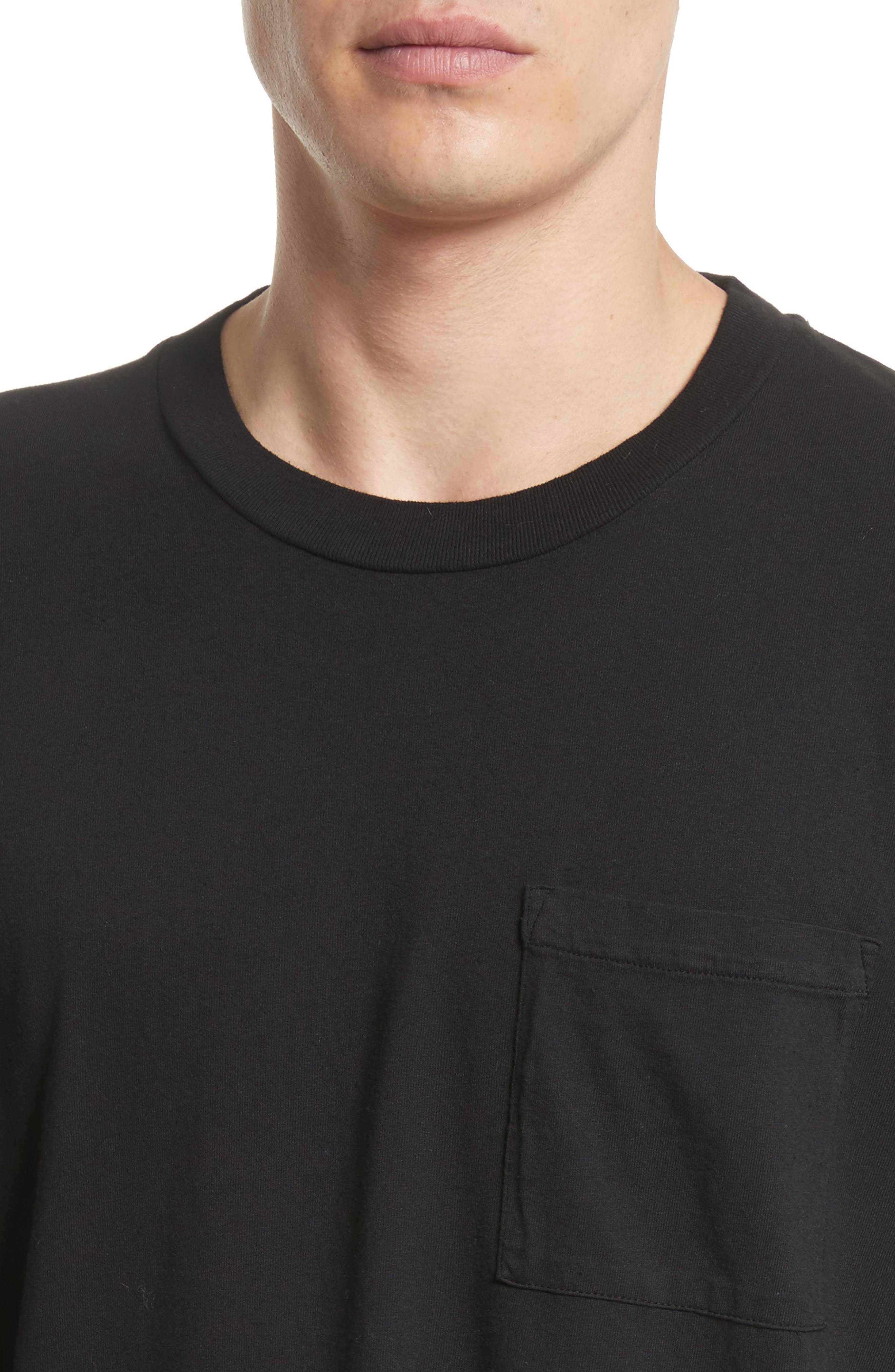 Alternate Image 4  - OUR LEGACY Bottom Stripe T-Shirt