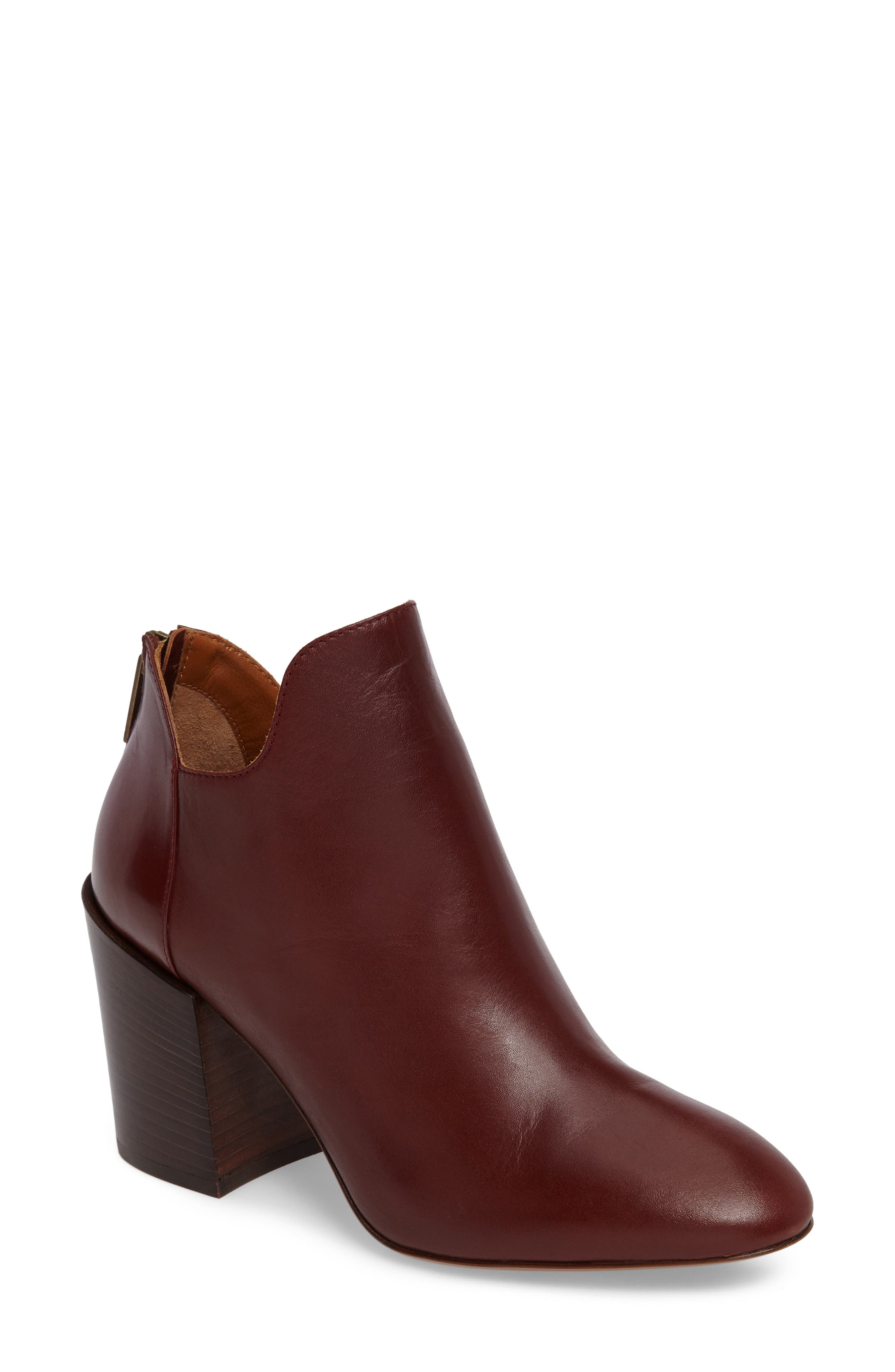 Francesca Weatherproof Bootie,                         Main,                         color, Whiskey