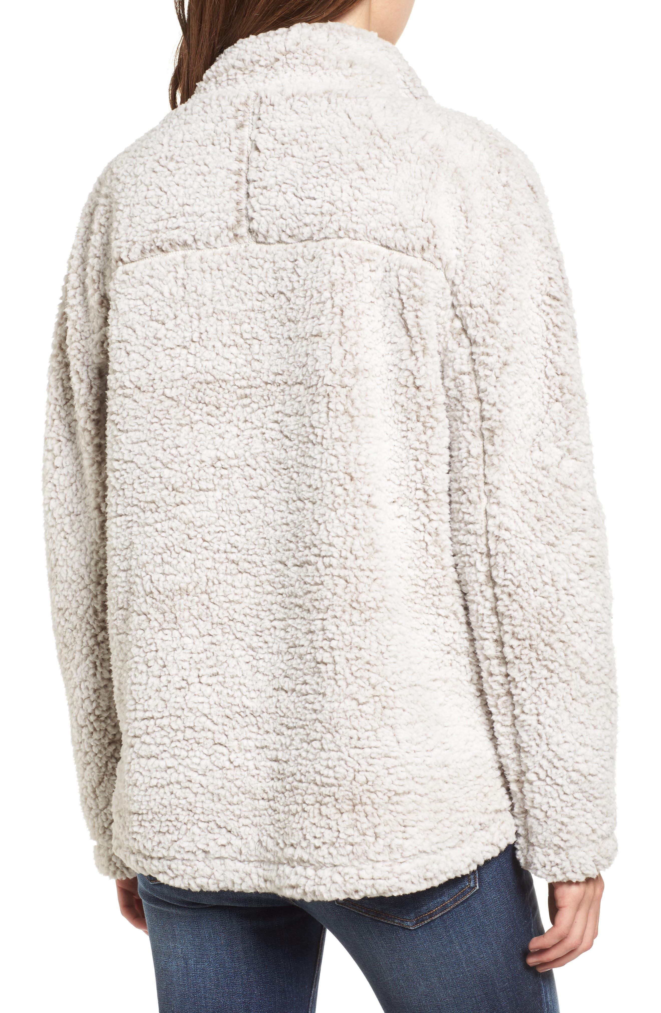 Wubby Fleece Pullover,                             Alternate thumbnail 2, color,                             Ivory