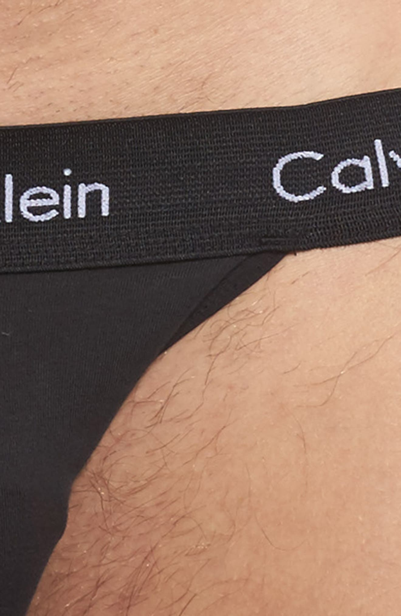 Alternate Image 5  - Calvin Klein 2-Pack Stretch Cotton Jock Strap