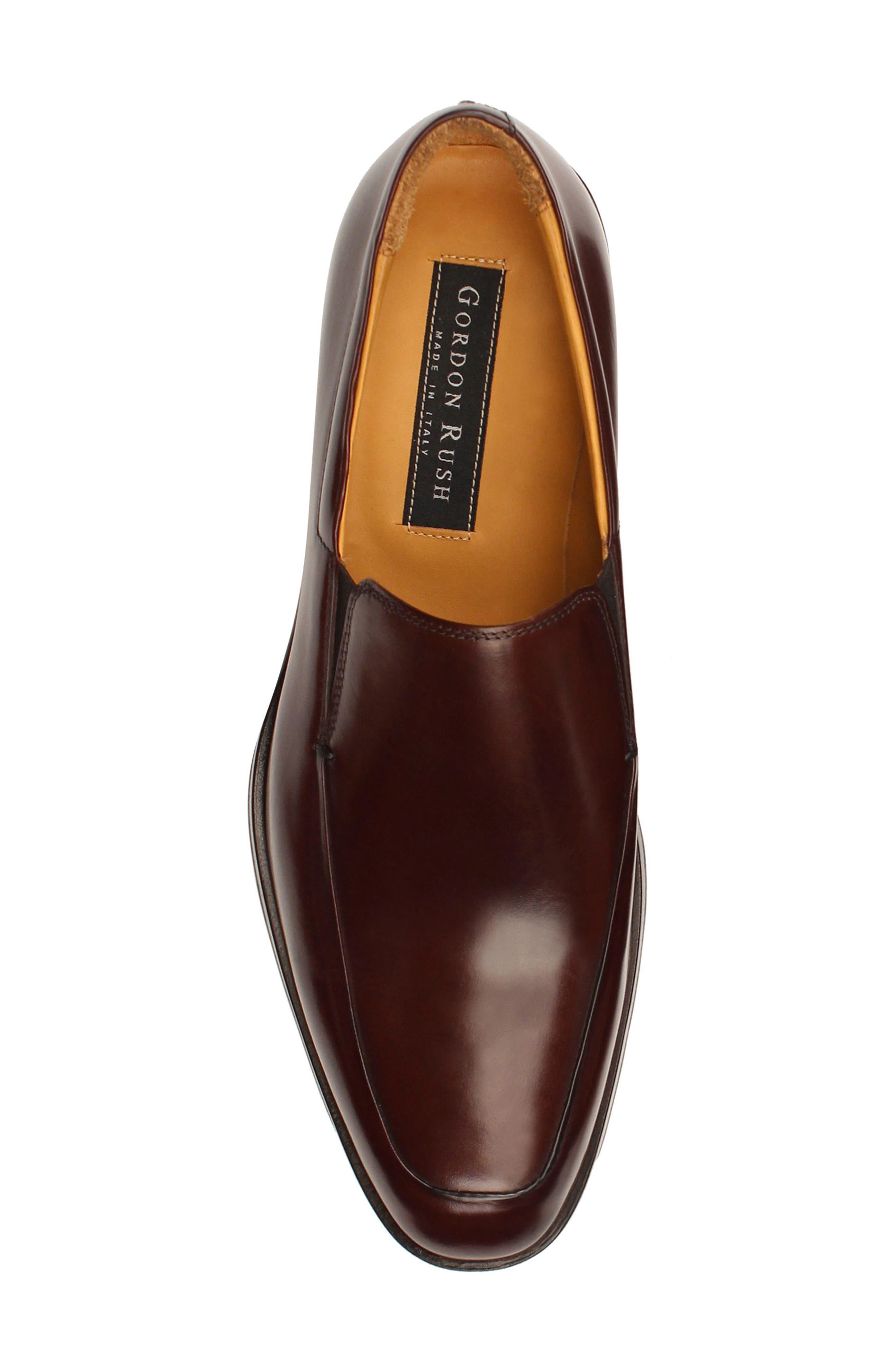 Brighton II Venetian Loafer,                             Alternate thumbnail 5, color,                             Bourbon Leather