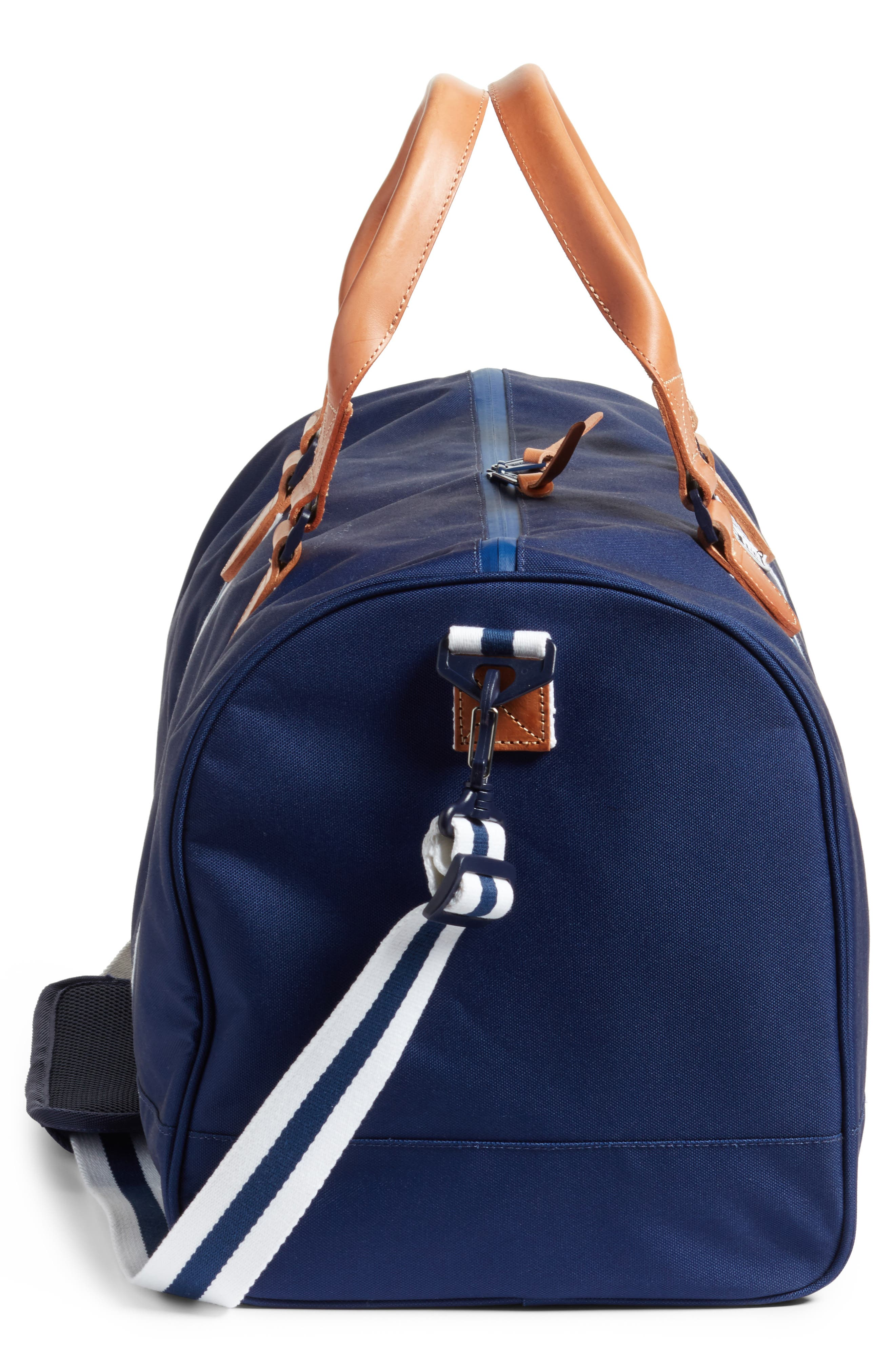 Novel Duffel Bag,                             Alternate thumbnail 4, color,                             Blue Depths