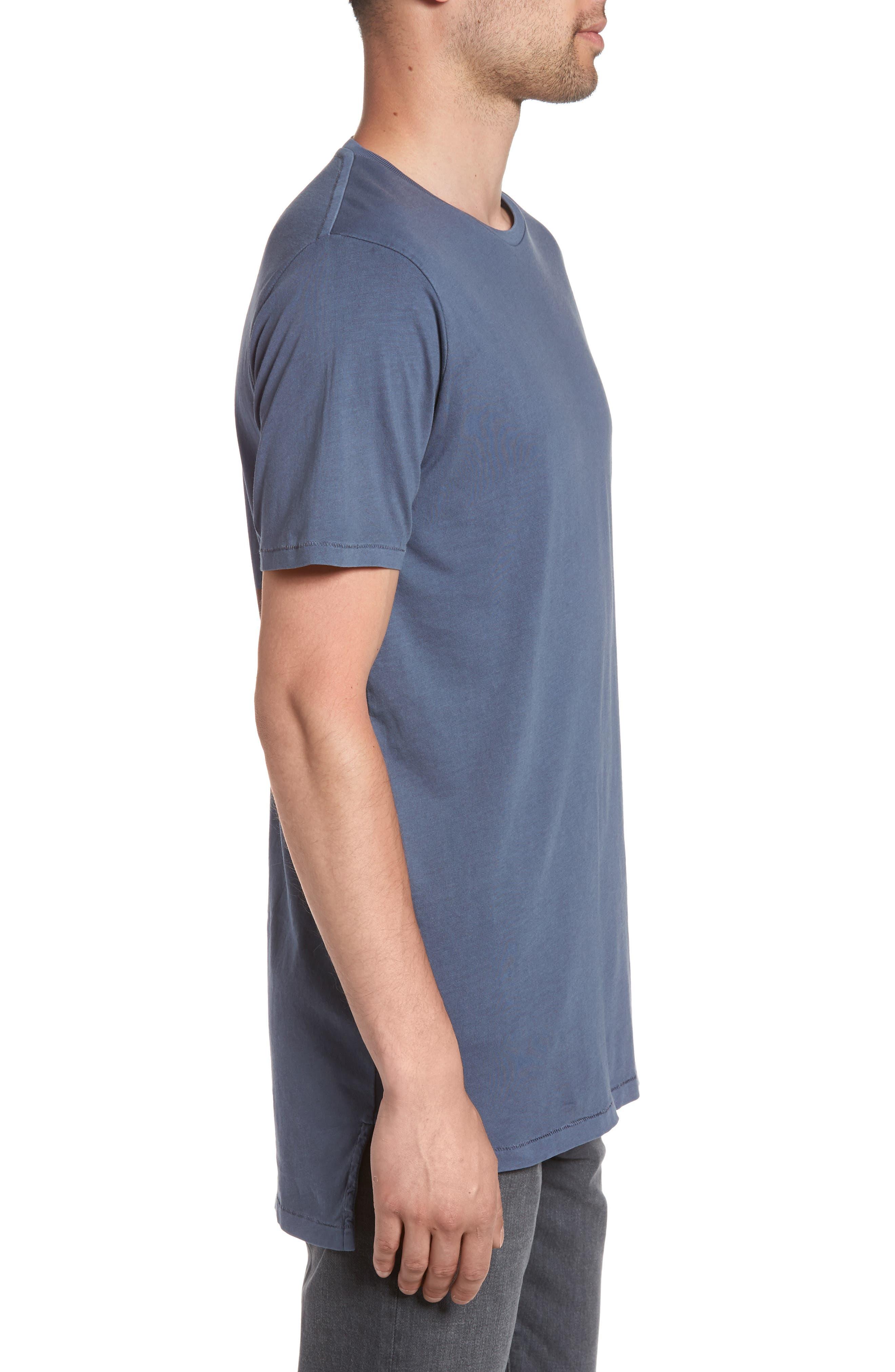 Flintlock Stripe T-Shirt,                             Alternate thumbnail 3, color,                             Pigment Blue Grey