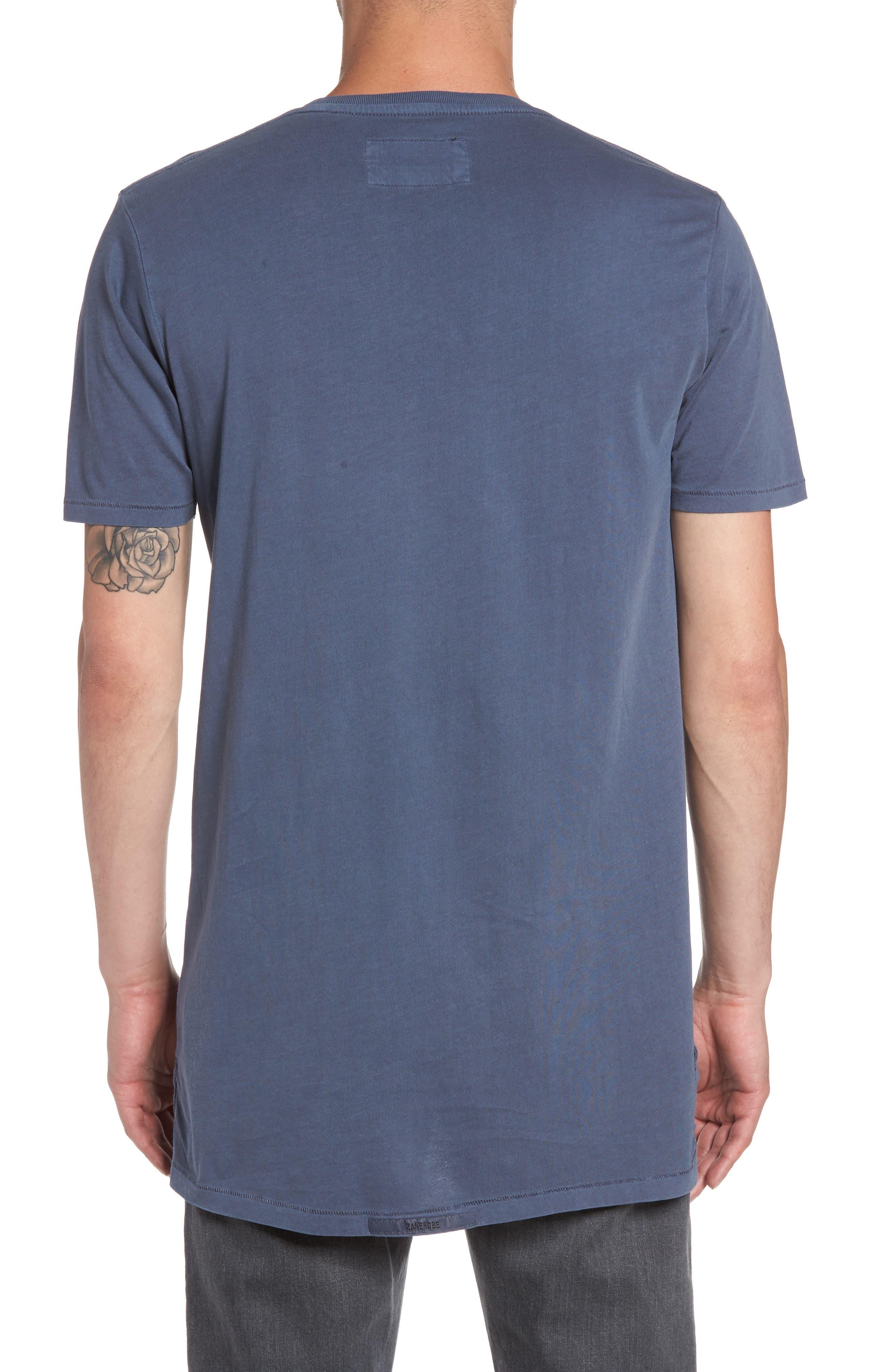 Flintlock Stripe T-Shirt,                             Alternate thumbnail 2, color,                             Pigment Blue Grey