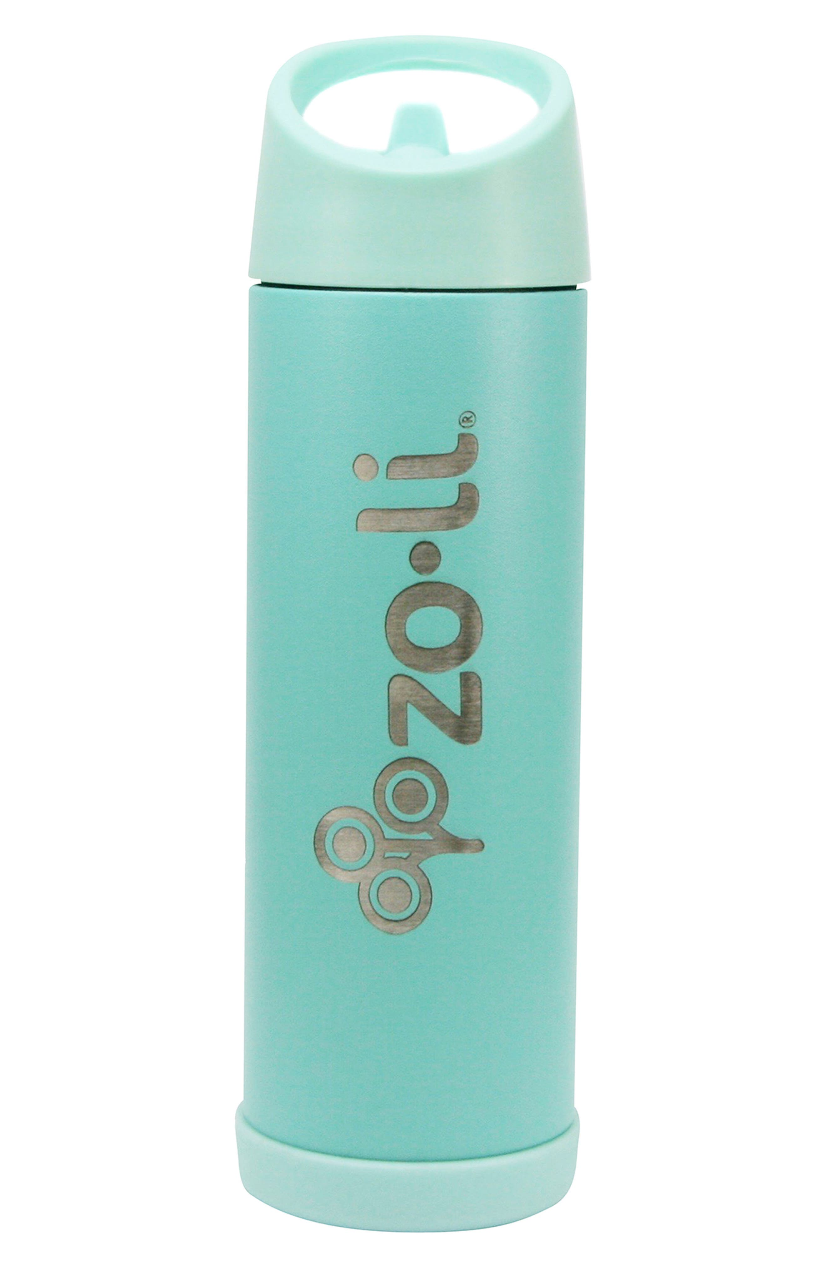 Alternate Image 1 Selected - ZoLi POW Pip 16-Ounce Insulated Stainless Steel Bottle with Straw