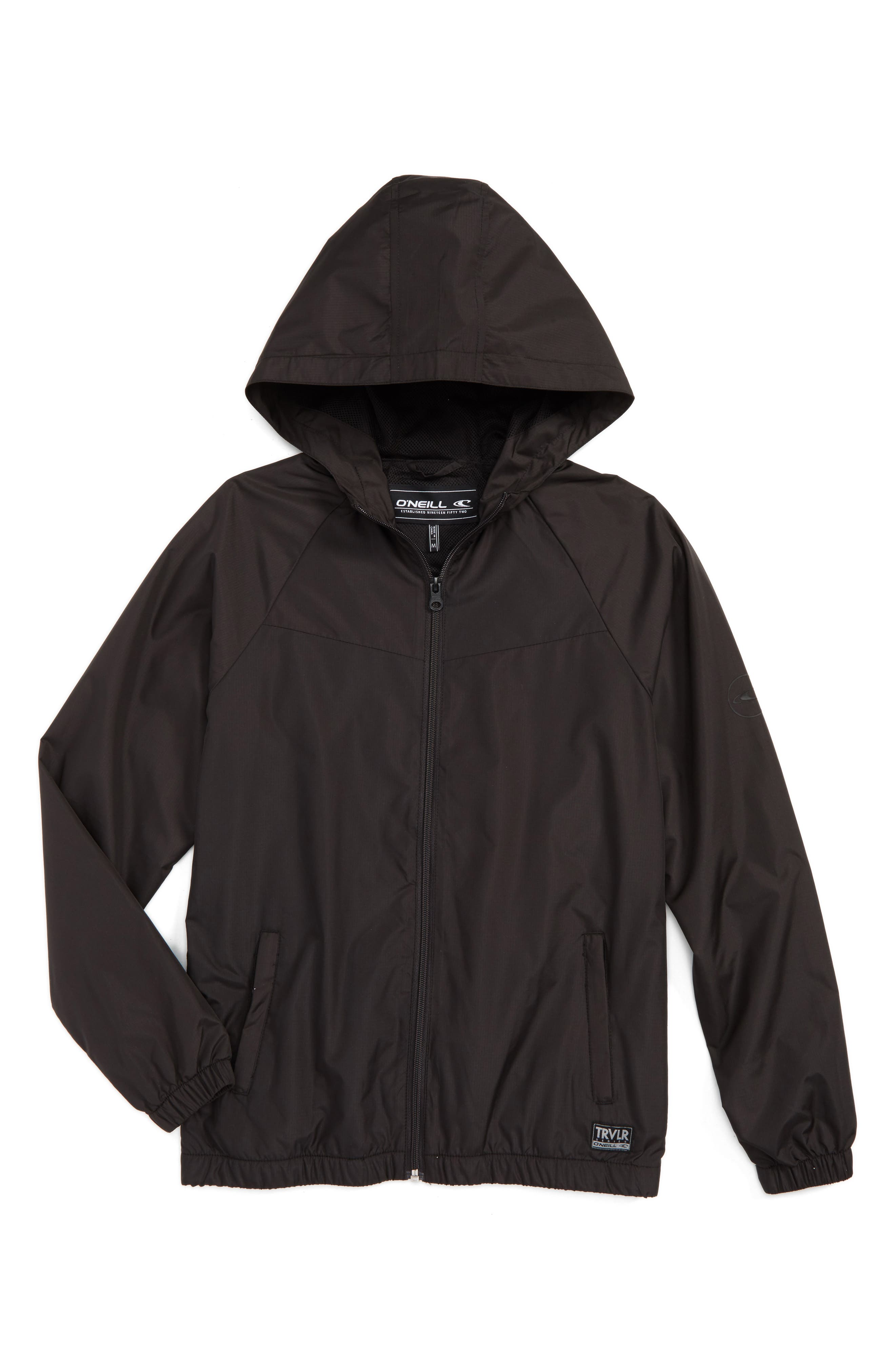 Alternate Image 1 Selected - O'Neill Traveler Packable Windbreaker Jacket (Toddler Boys, Little Boys & Big Boys)