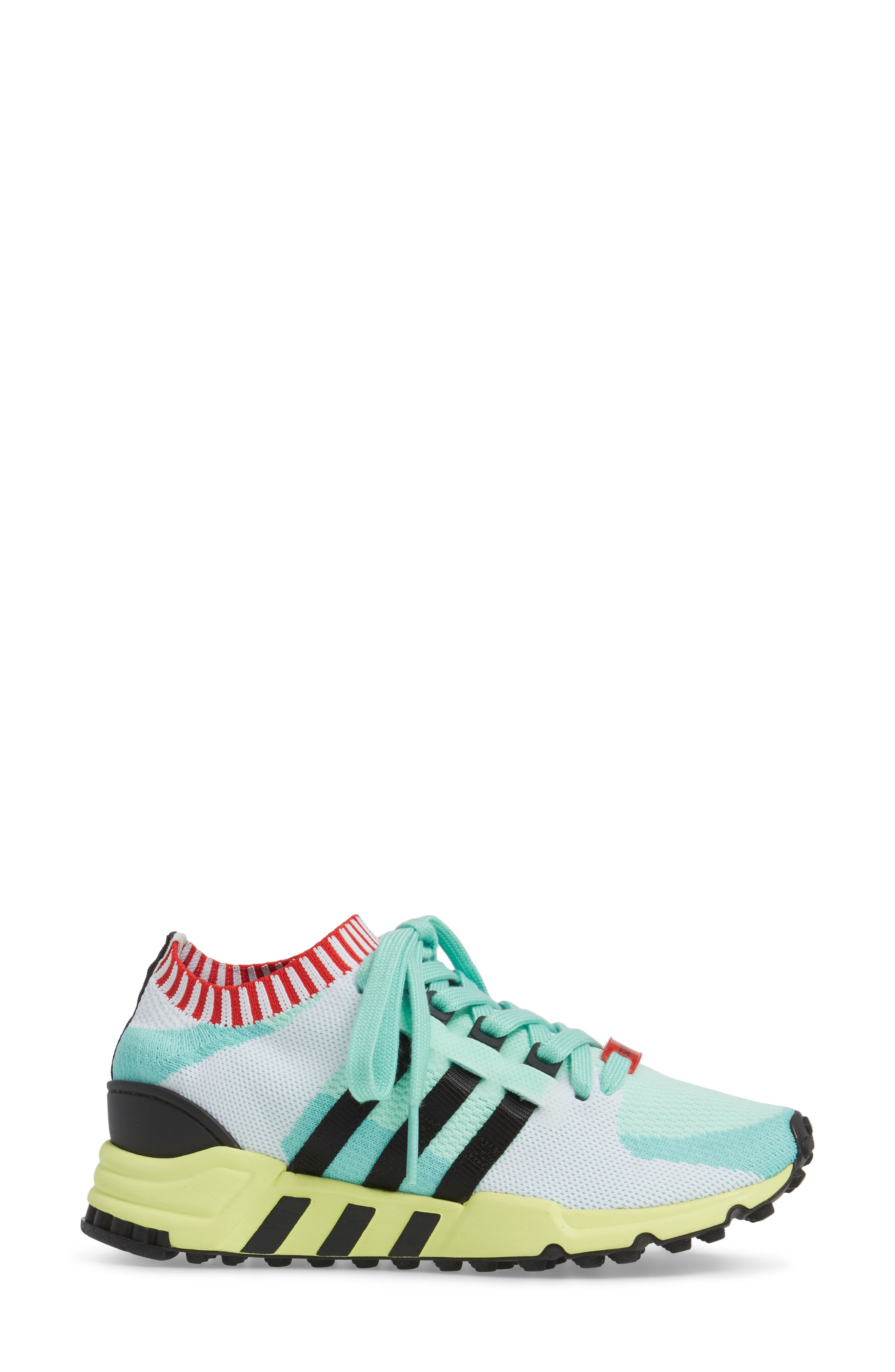 EQT Support RF Sneaker,                             Alternate thumbnail 2, color,                             Green/ Core Black/ Green