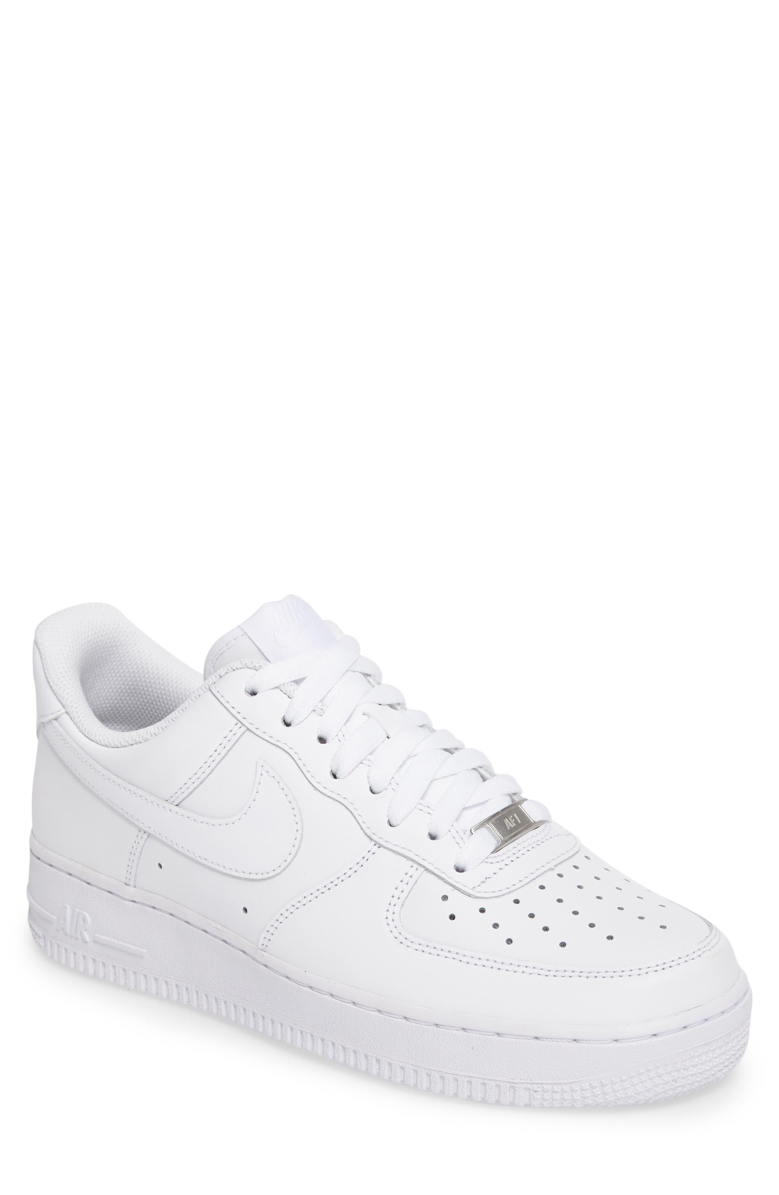 Air Force 1 '07 Sneaker,                             Main thumbnail 1, color,                             White/ White