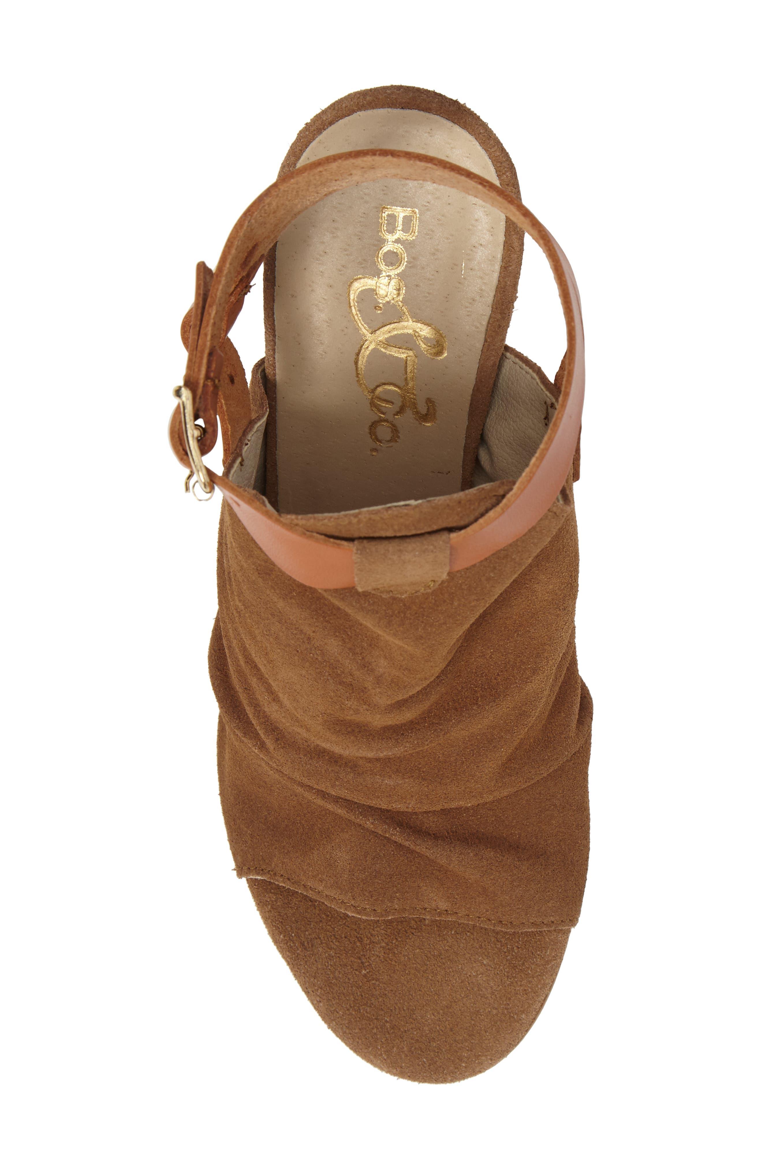 Alternate Image 5  - Bos. & Co. Ivy Block Heel Sandal (Women)