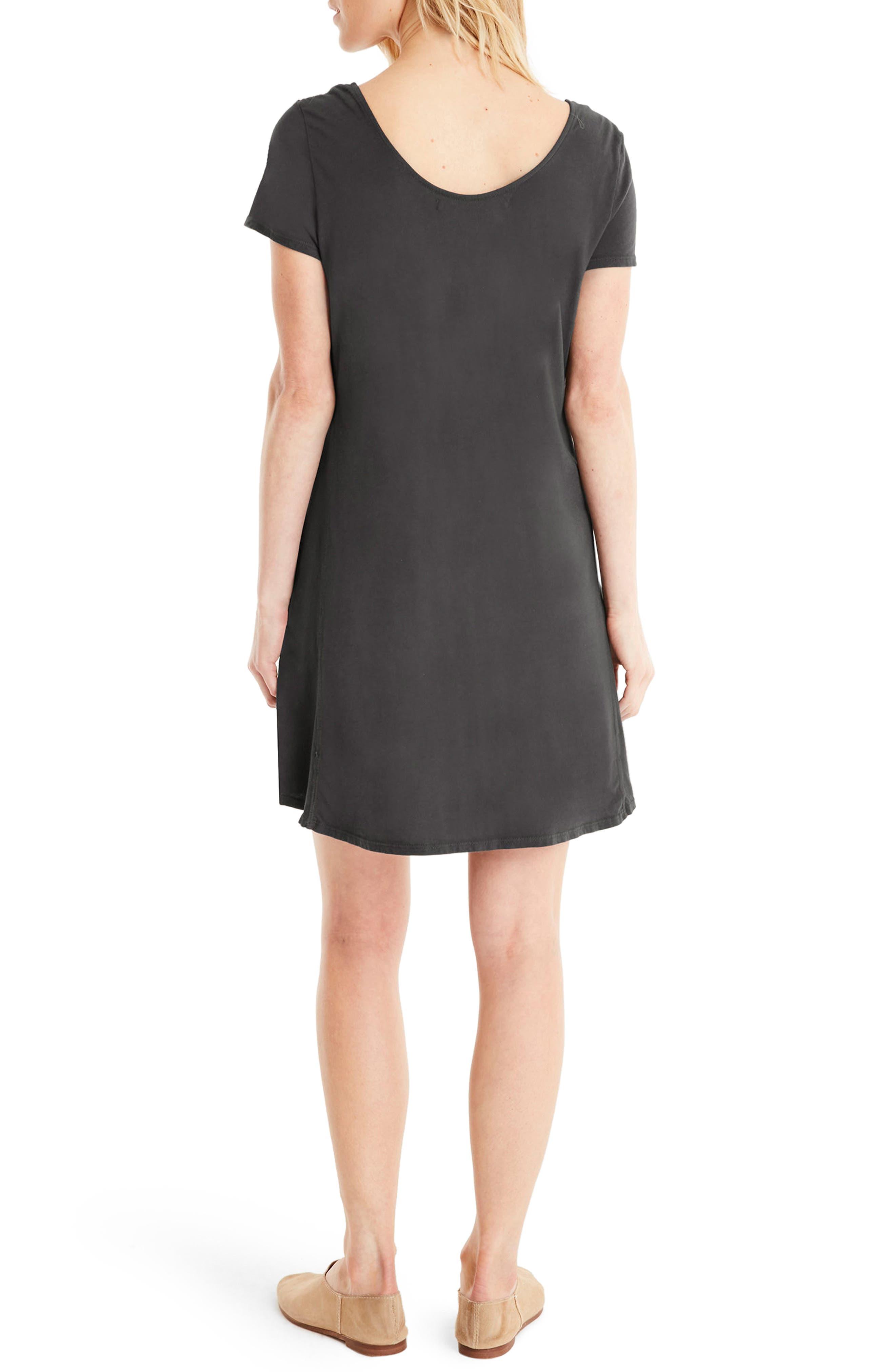 Alternate Image 2  - Michael Stars A-Line Dress