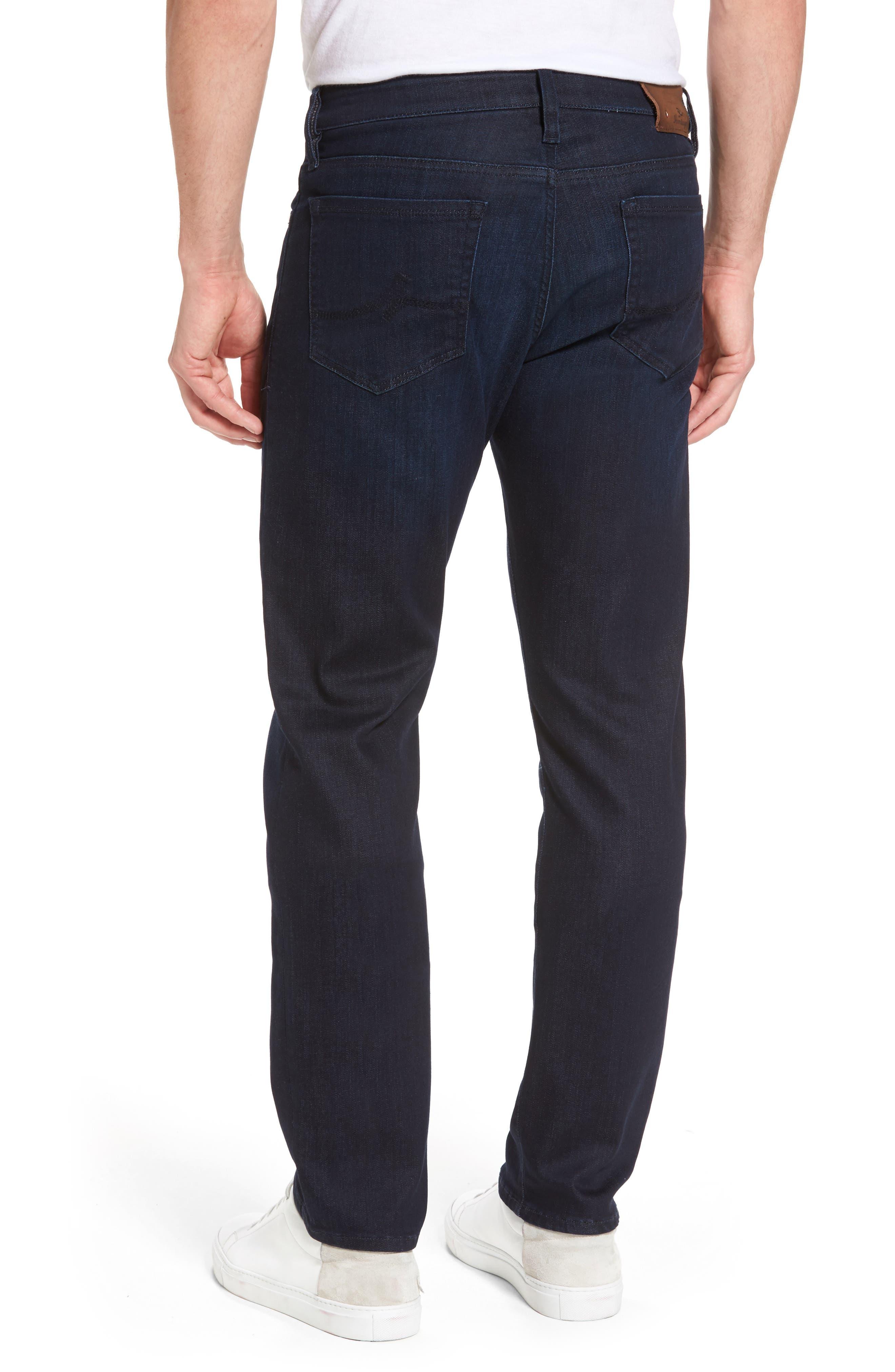Alternate Image 2  - 34 Heritage Courage Straight Leg Jeans (Dark Rome)