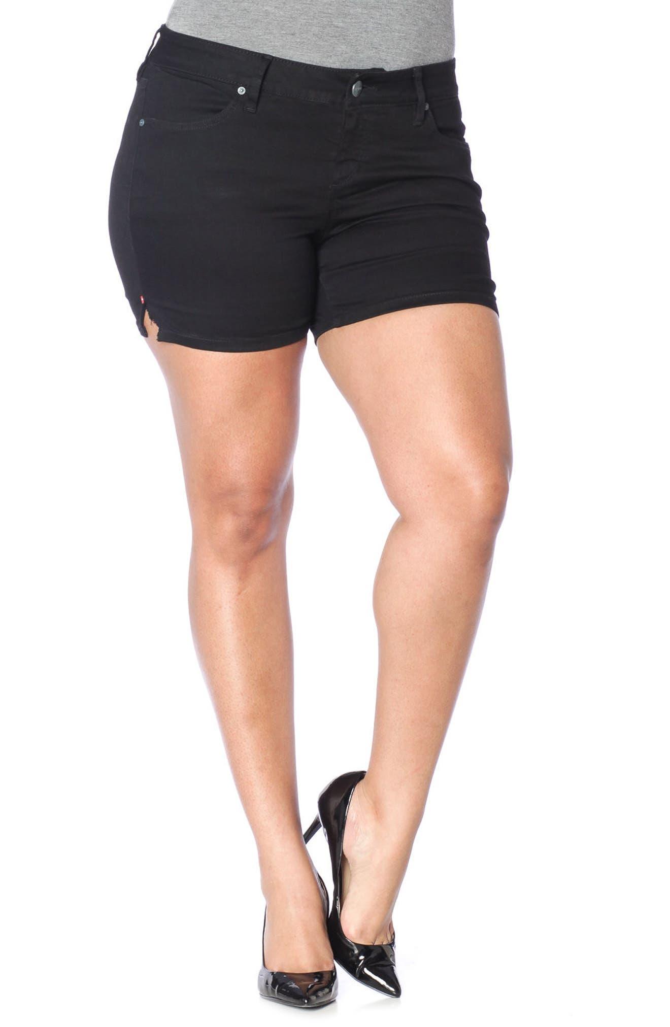 SLINK JEANS Stretch Twill Shorts