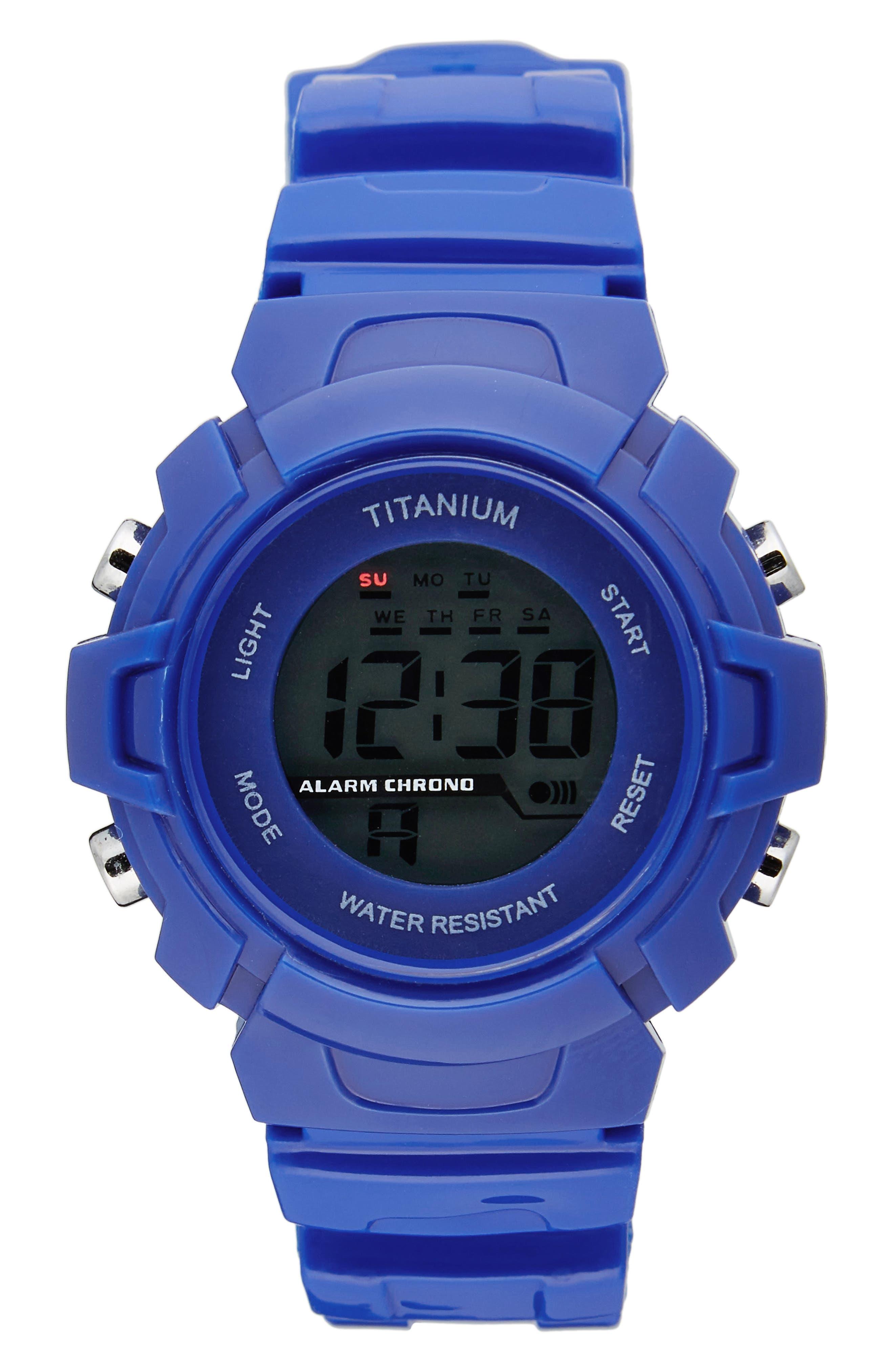 TITANIUM LCD Sport Watch