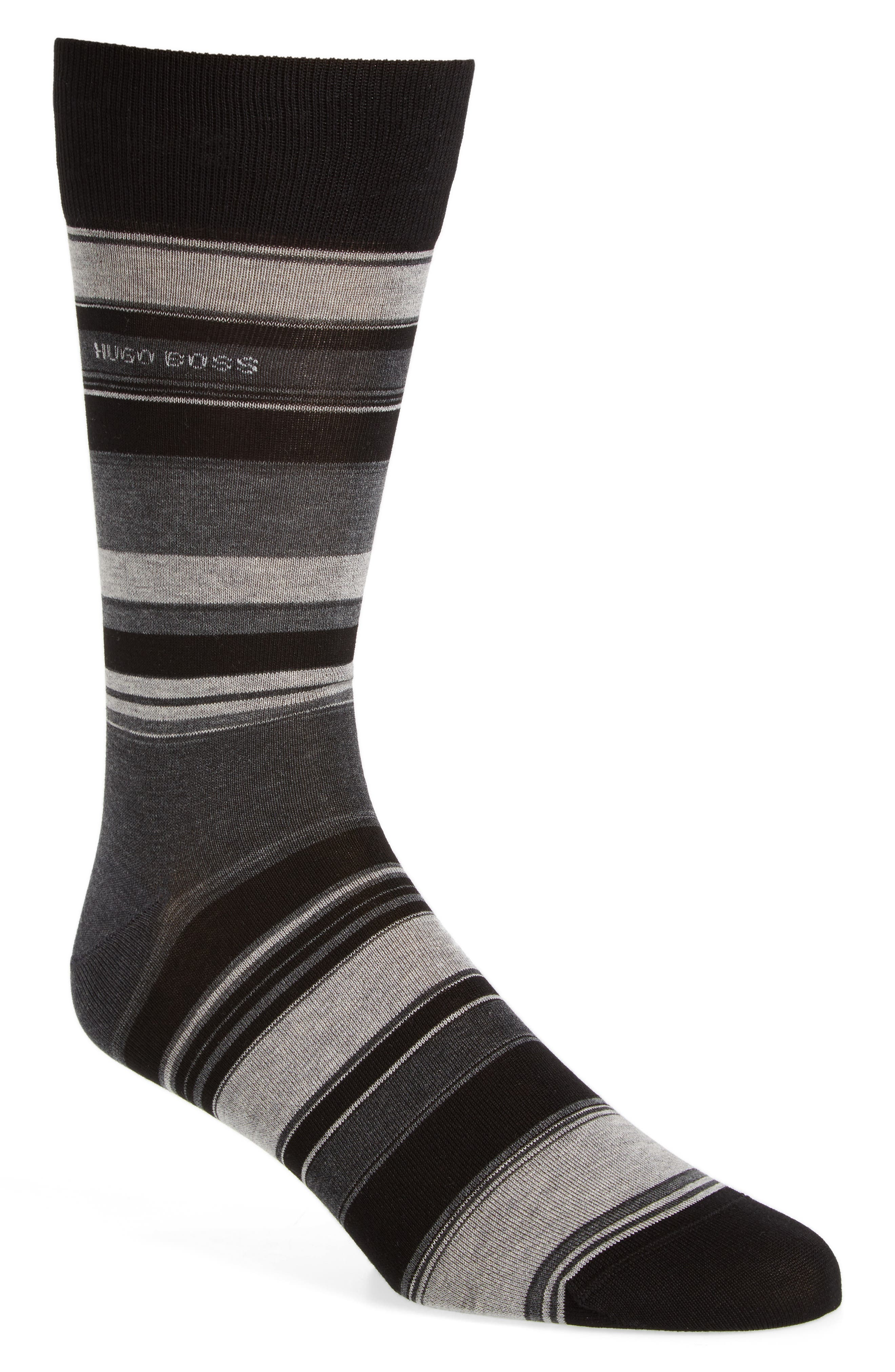 Alternate Image 1 Selected - BOSS RS Design Bold Stripe Socks