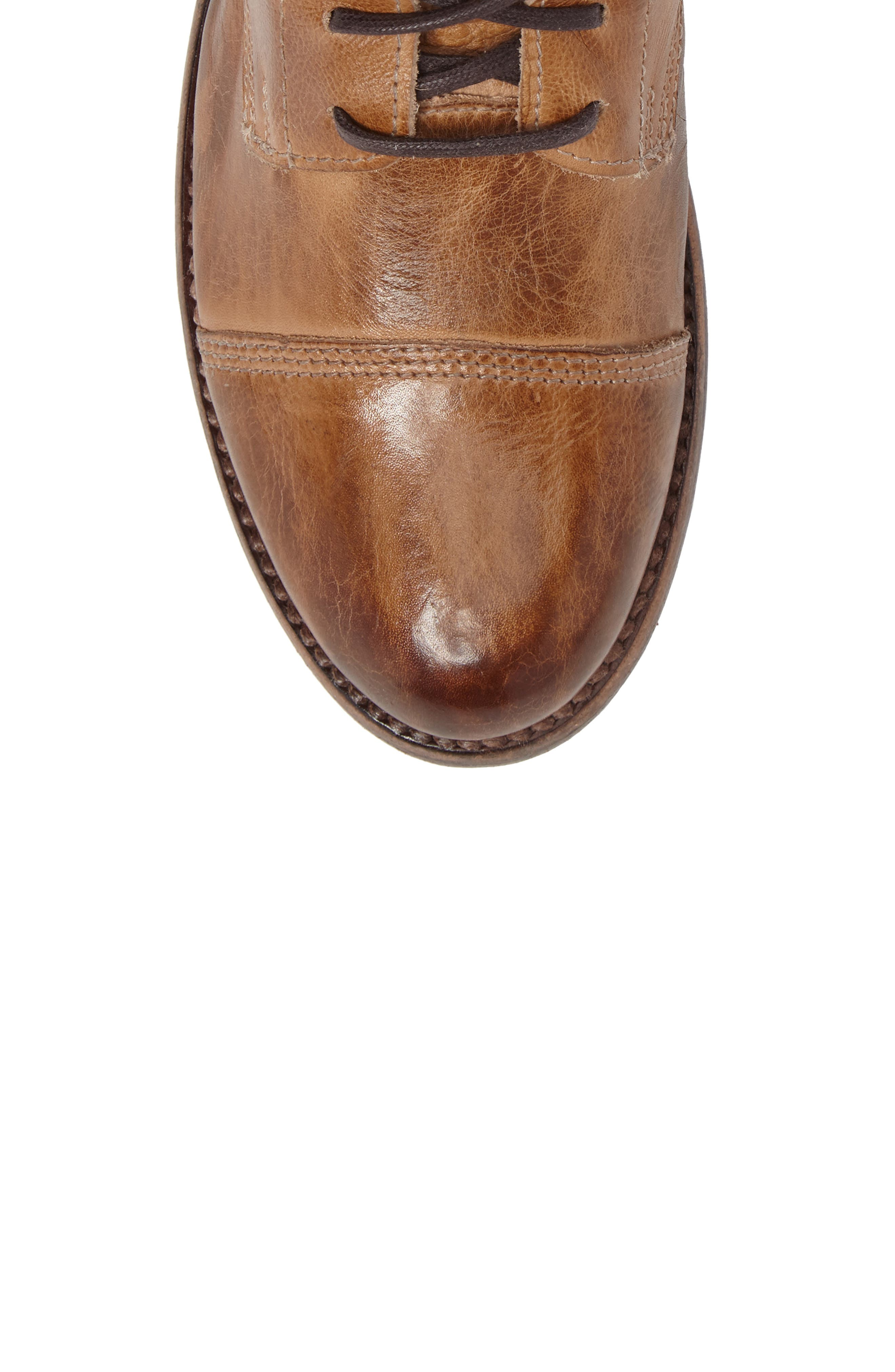 'Bonnie' Boot,                             Alternate thumbnail 5, color,                             Tan Rustic Leather