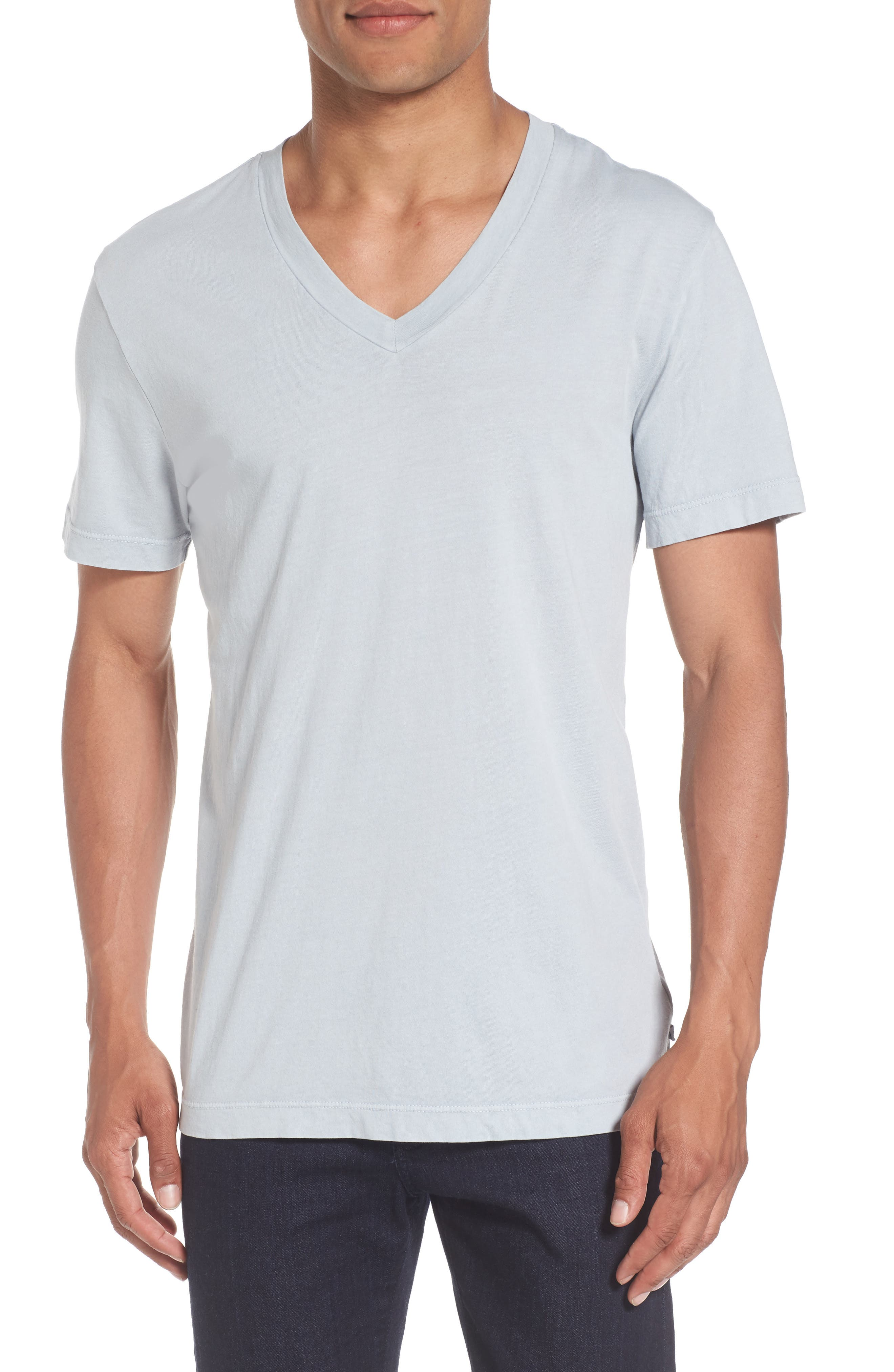 James Perse Short Sleeve V-Neck T-Shirt