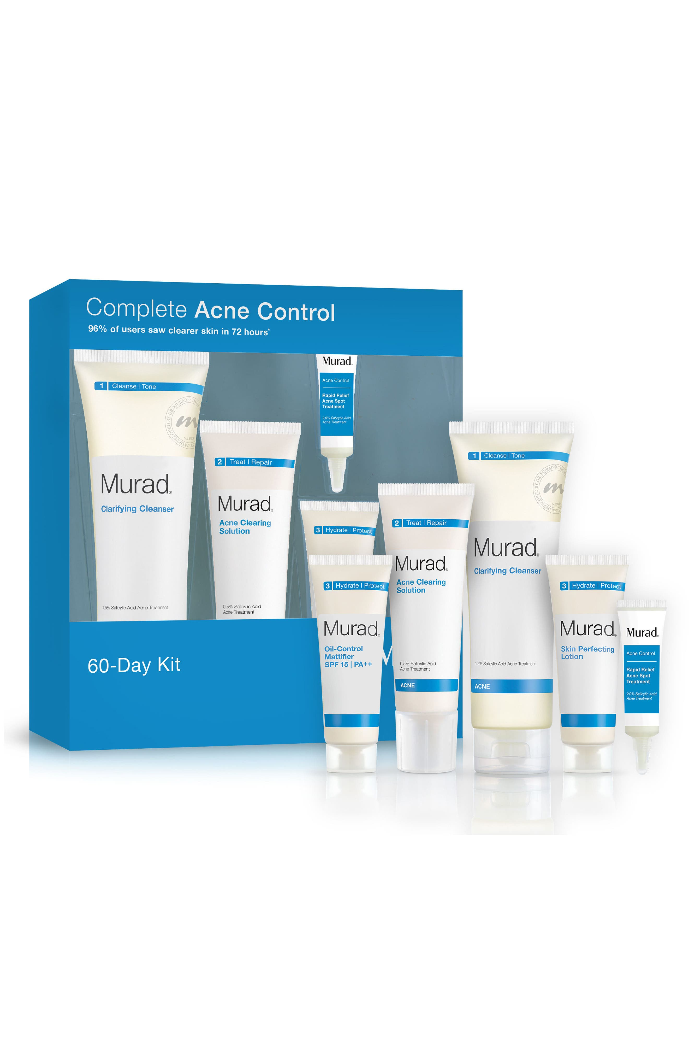 Acne Control 60-Day Kit,                         Main,                         color, No Color