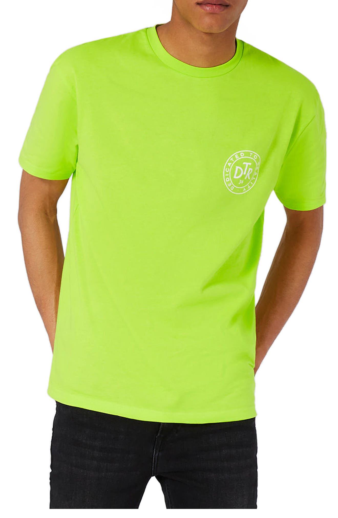 Topman Oversize Crewneck T-Shirt