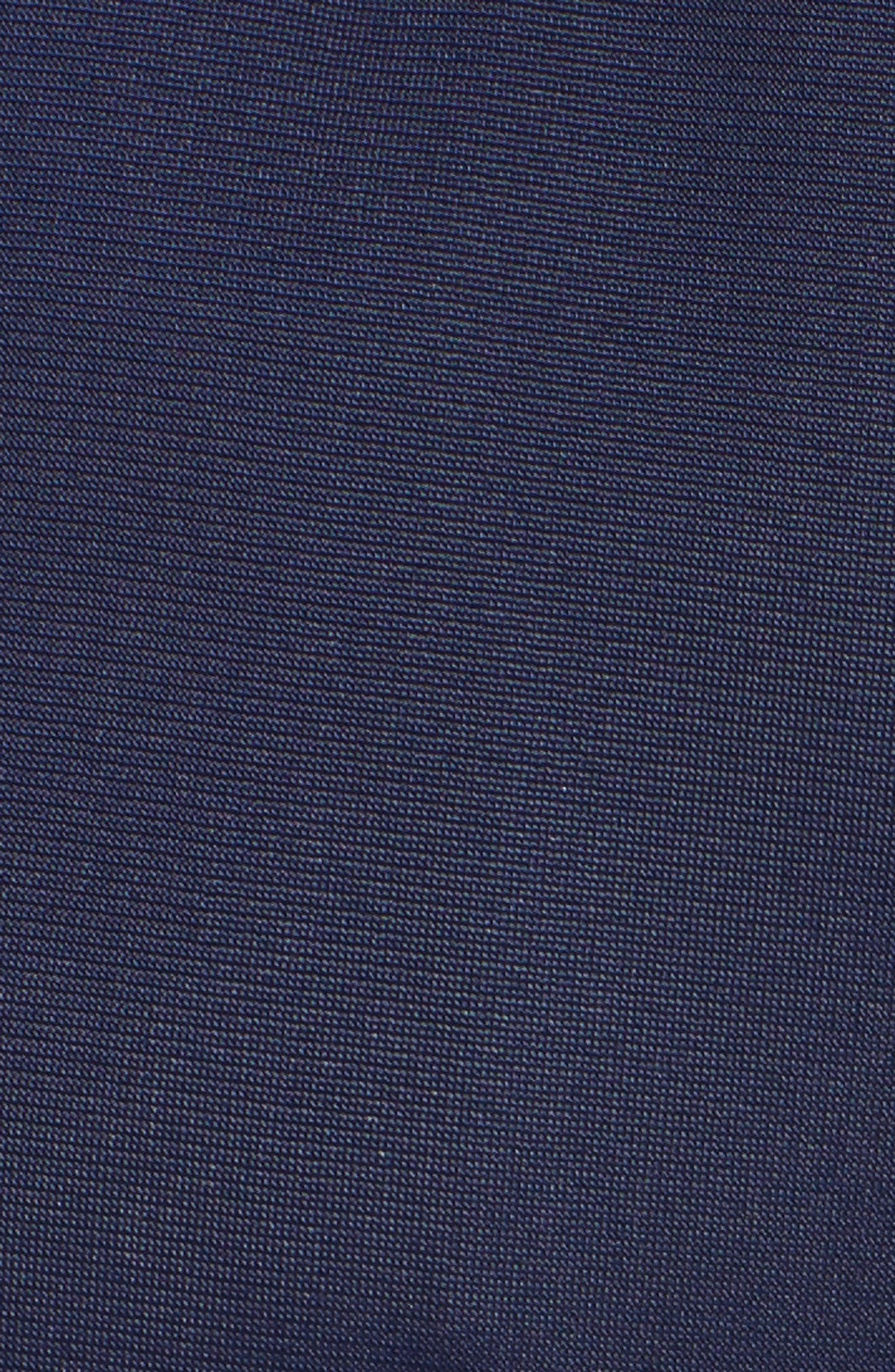 Crop Wide Leg Track Pants,                             Alternate thumbnail 6, color,                             Dark Blue