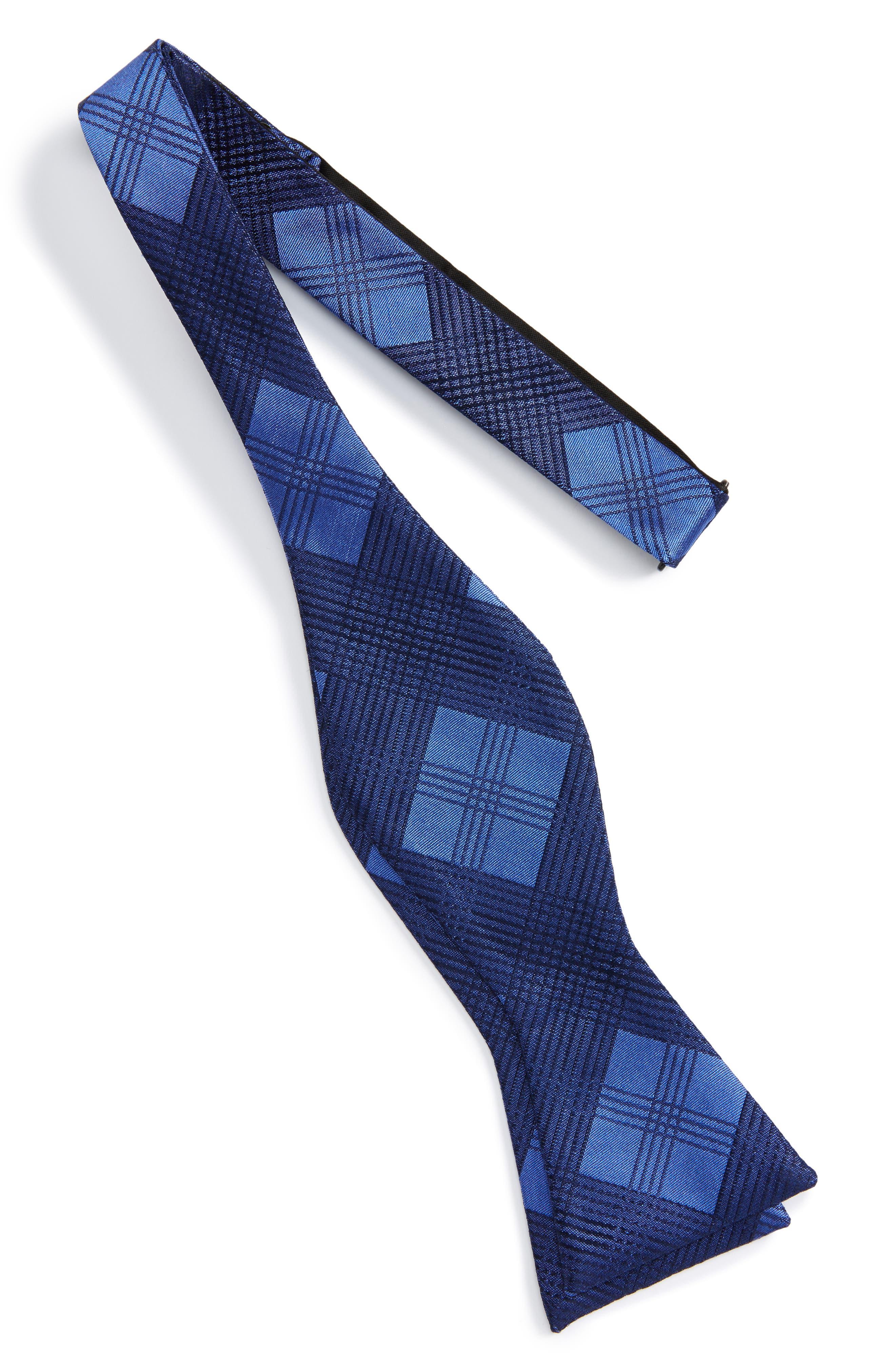 Alternate Image 2  - Calibrate Plaid Silk Bow Tie