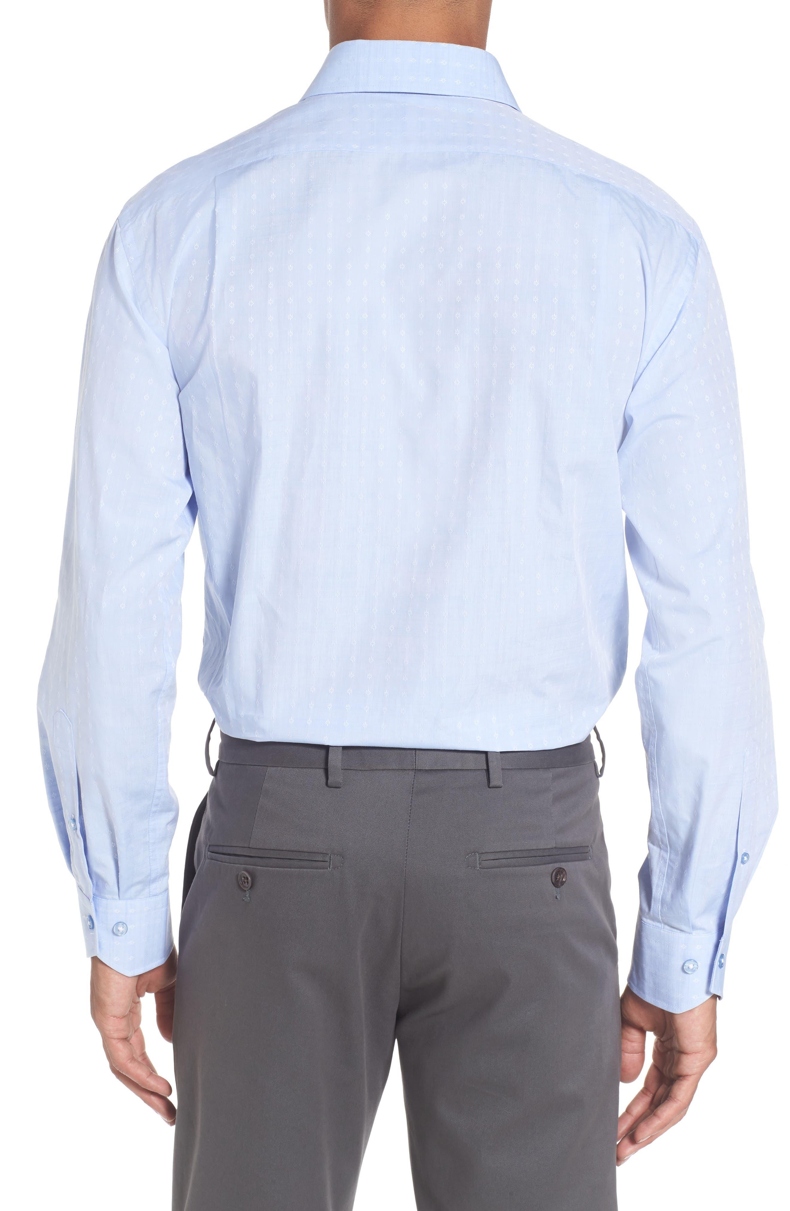 Alternate Image 3  - Lorenzo Uomo Trim Fit Floral Dress Shirt