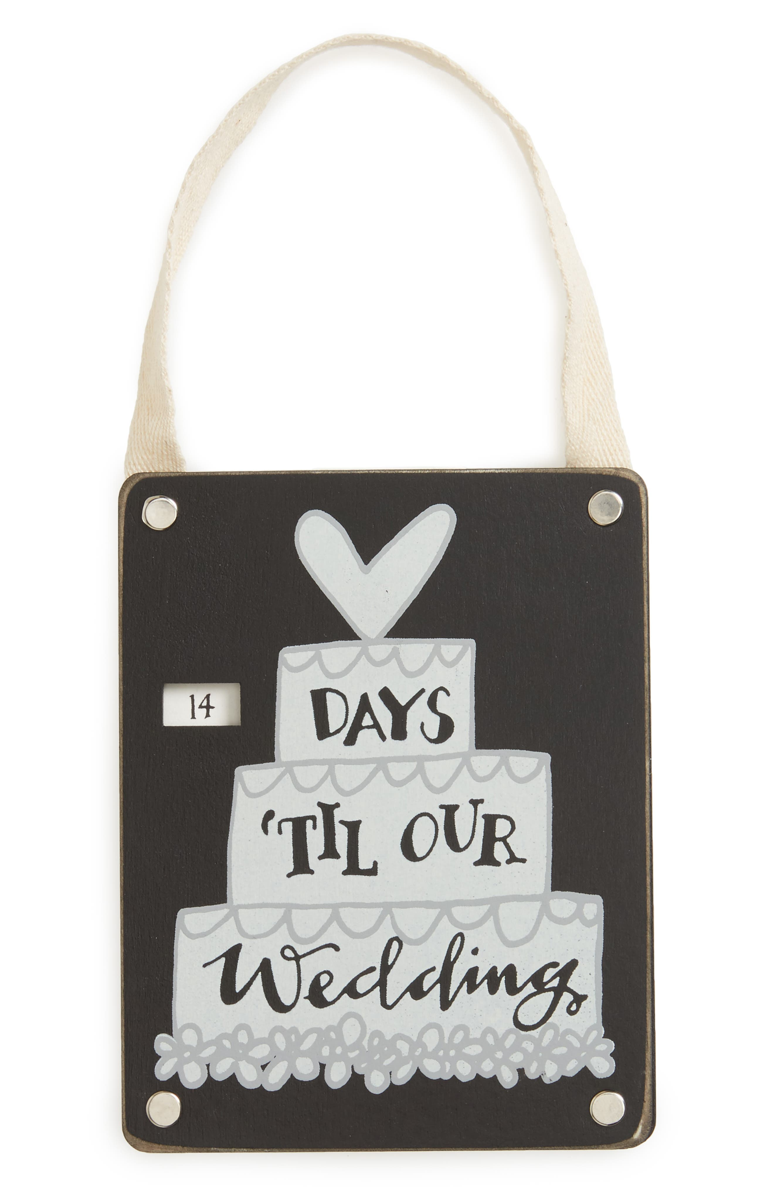 Primitives by Kathy Wedding Countdown Sign