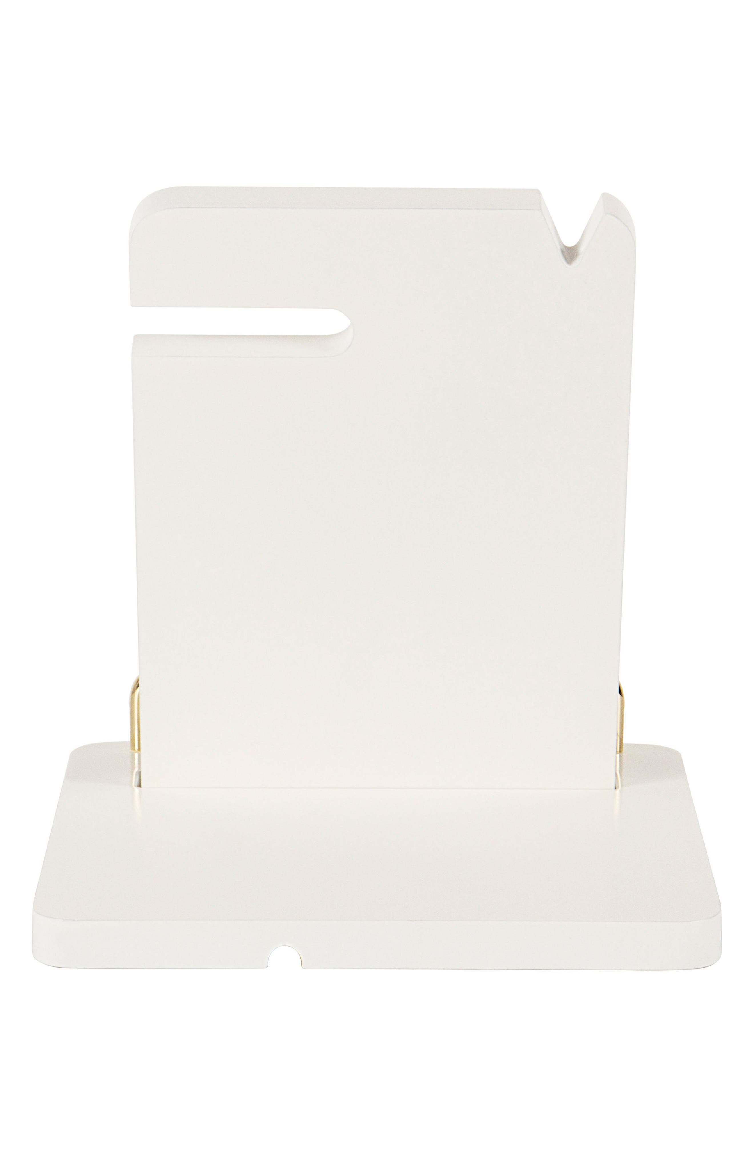 Boss Lady Lacquer Docking Station,                             Alternate thumbnail 7, color,                             White