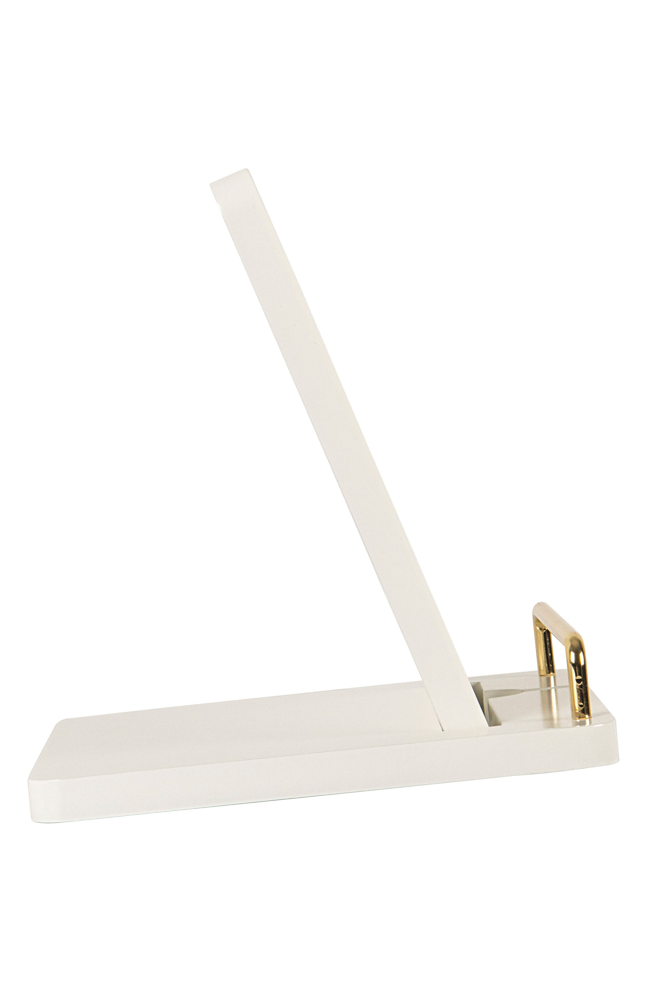 Boss Lady Lacquer Docking Station,                             Alternate thumbnail 8, color,                             White