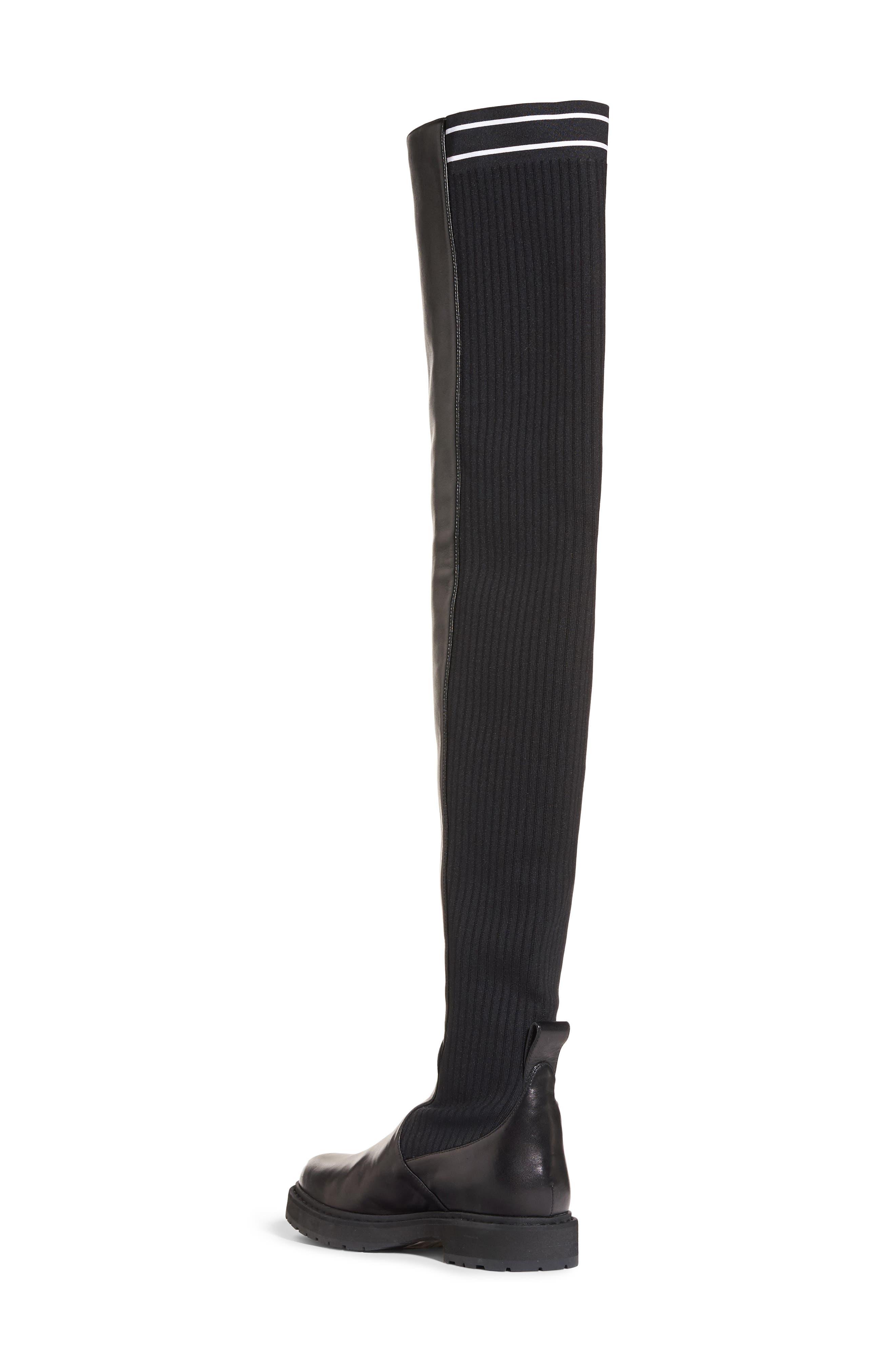 Alternate Image 2  - Fendi Logo Over the Knee Boot (Women)
