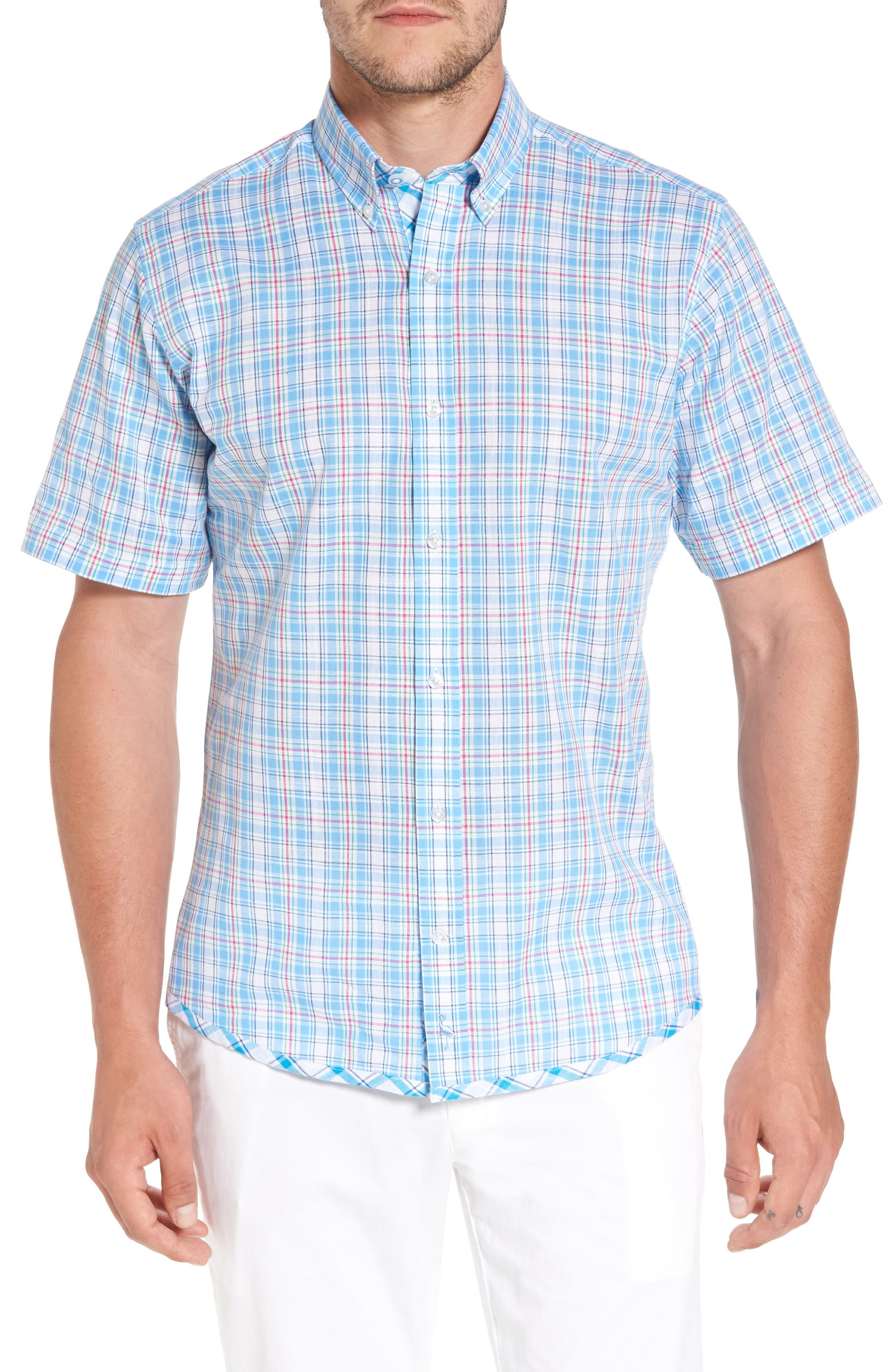 Main Image - TailorByrd Nectarine Sport Shirt