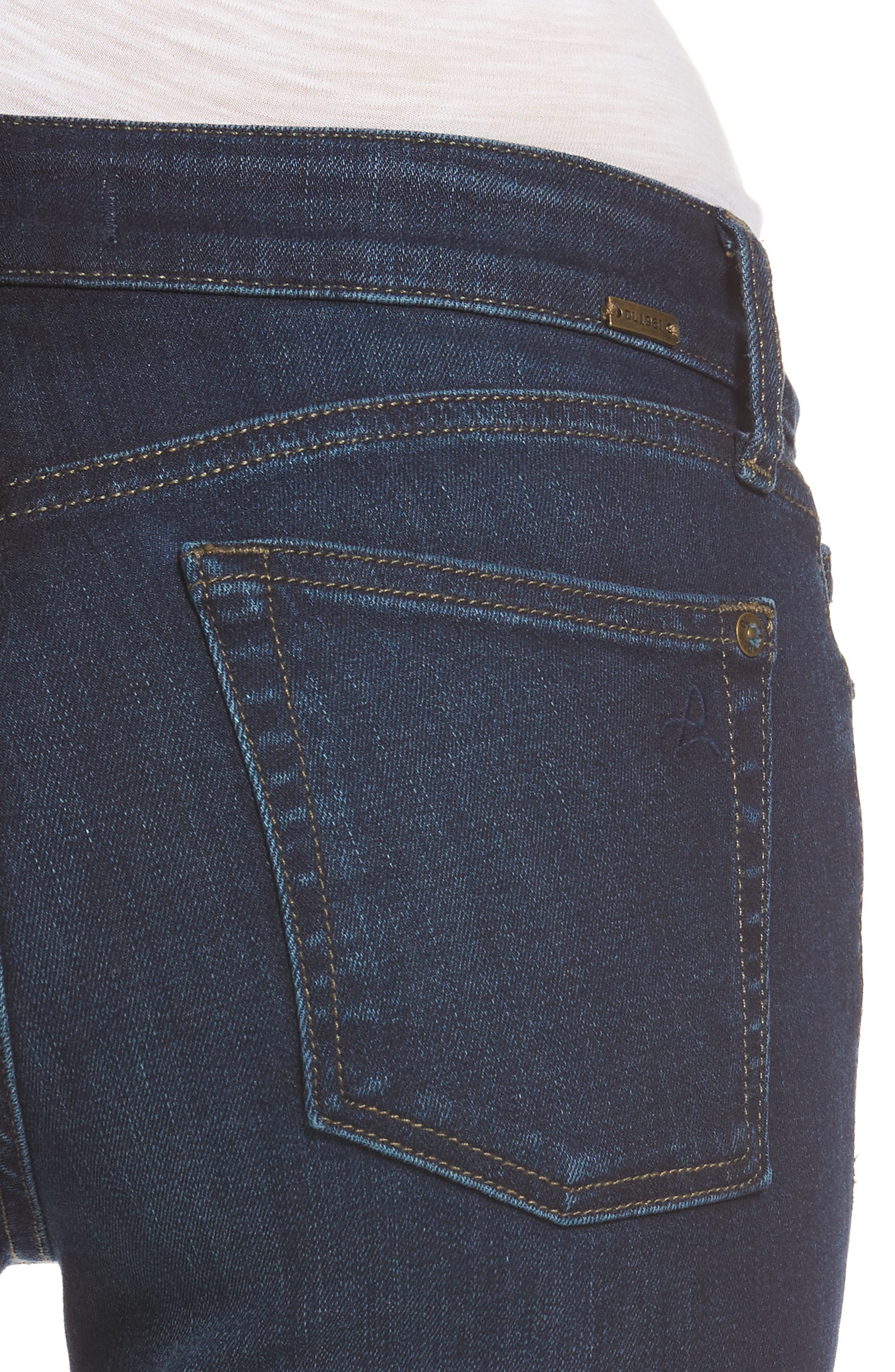 Alternate Image 4  - DL1961 Bridget Bootcut Jeans (Peak)