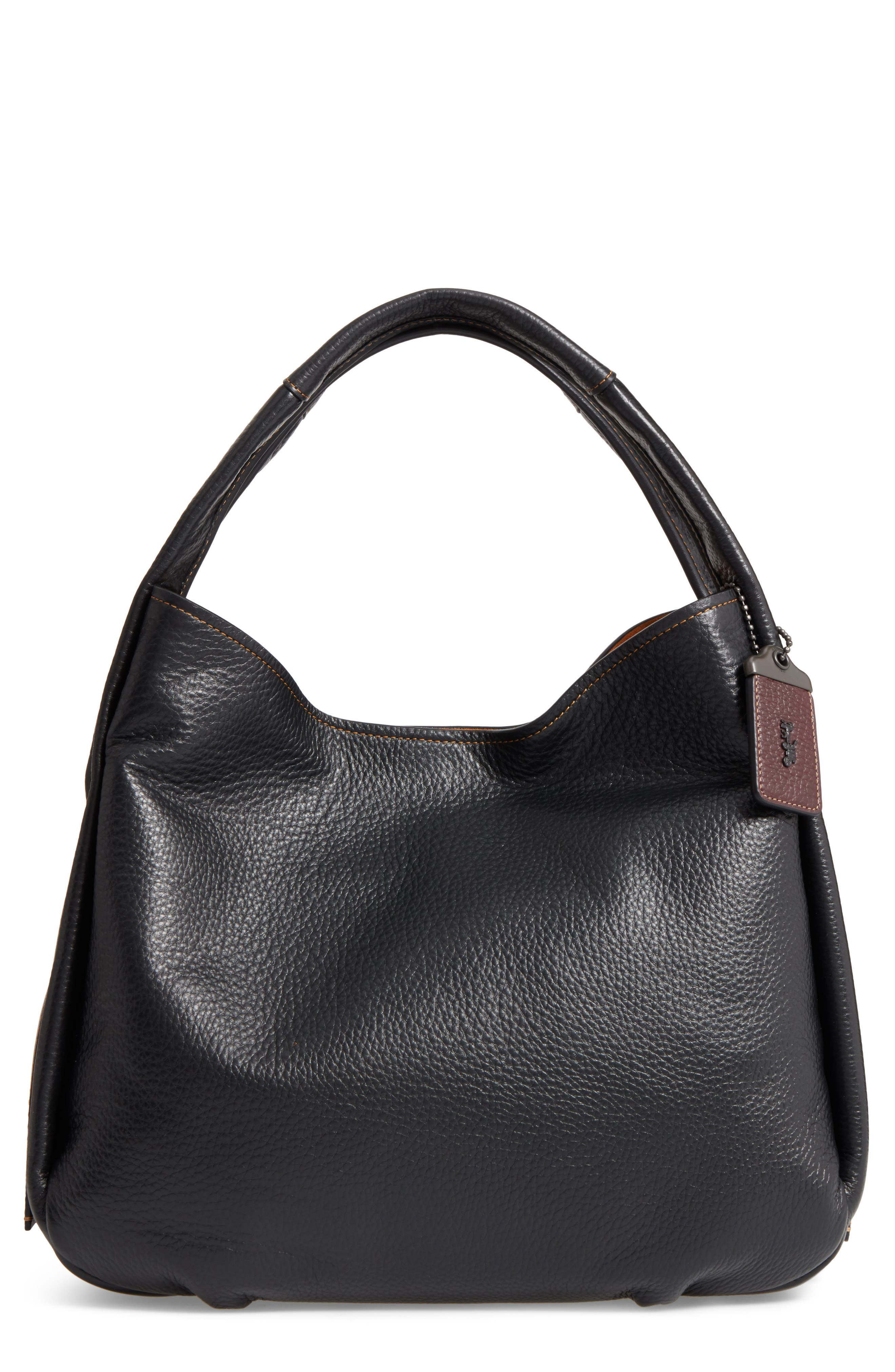 COACH 1941 Bandit Leather Hobo & Removable Shoulder Bag