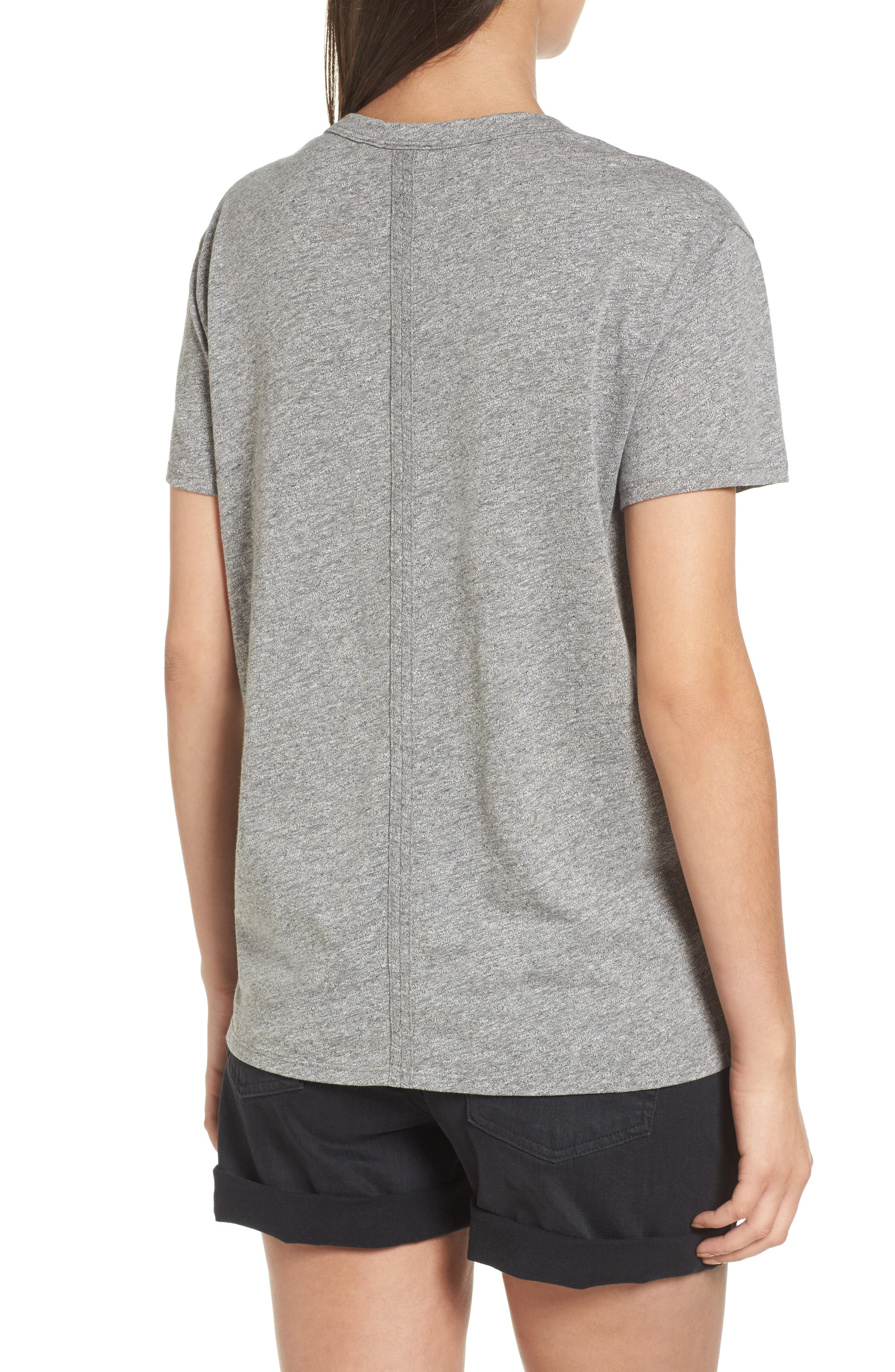 Henson Tee,                             Alternate thumbnail 2, color,                             Speckled Heather Grey