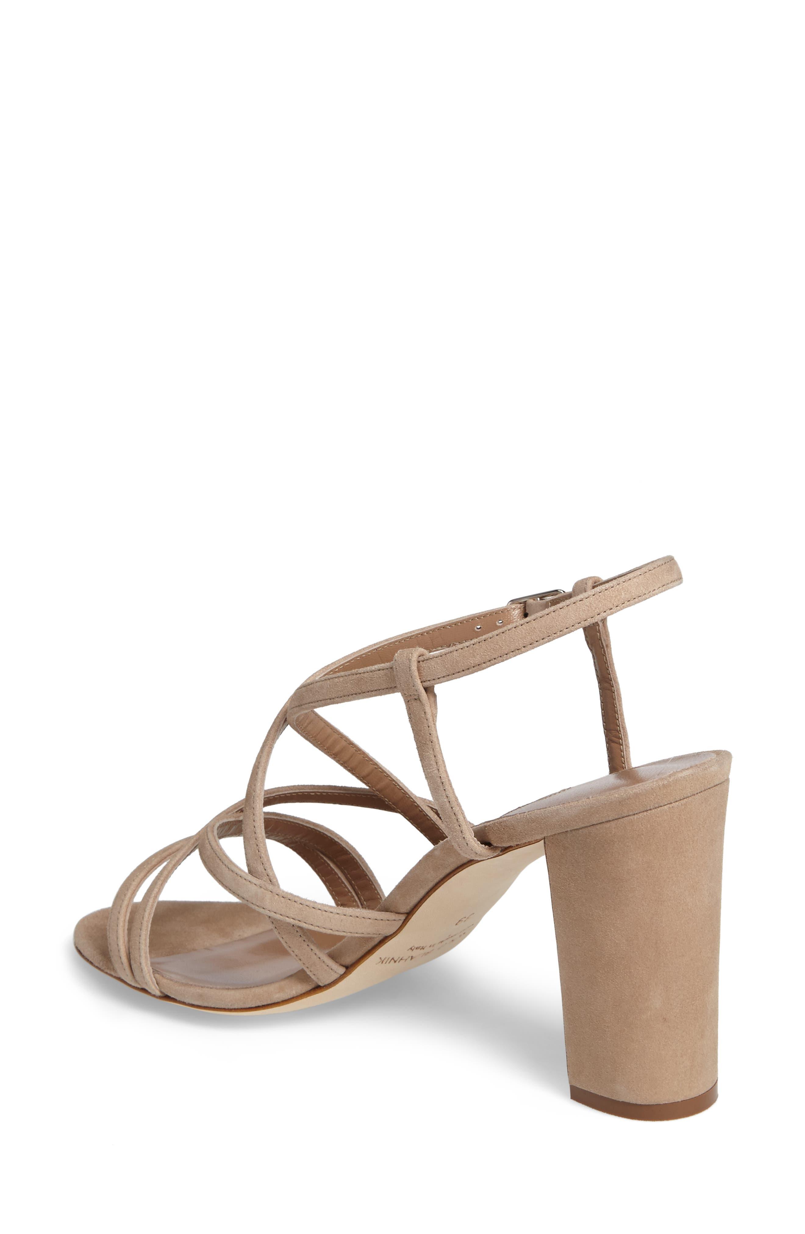 Alternate Image 2  - Manolo Blahnik Atrita Sandal (Women)
