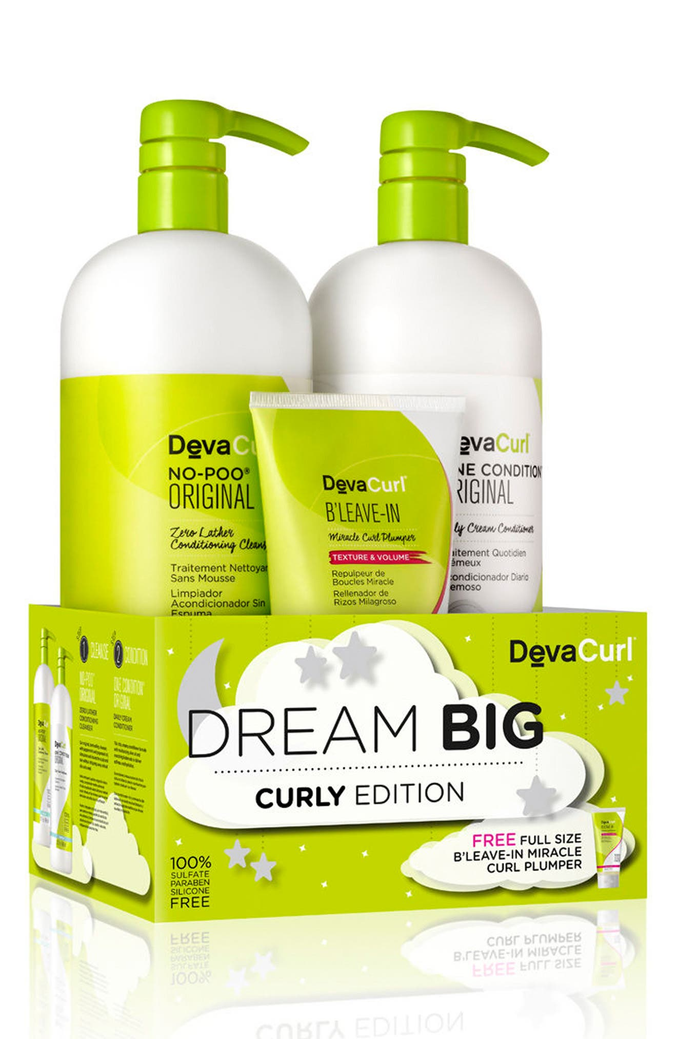 DevaCurl Dream Big Curly Edition Collection ($108 Value)