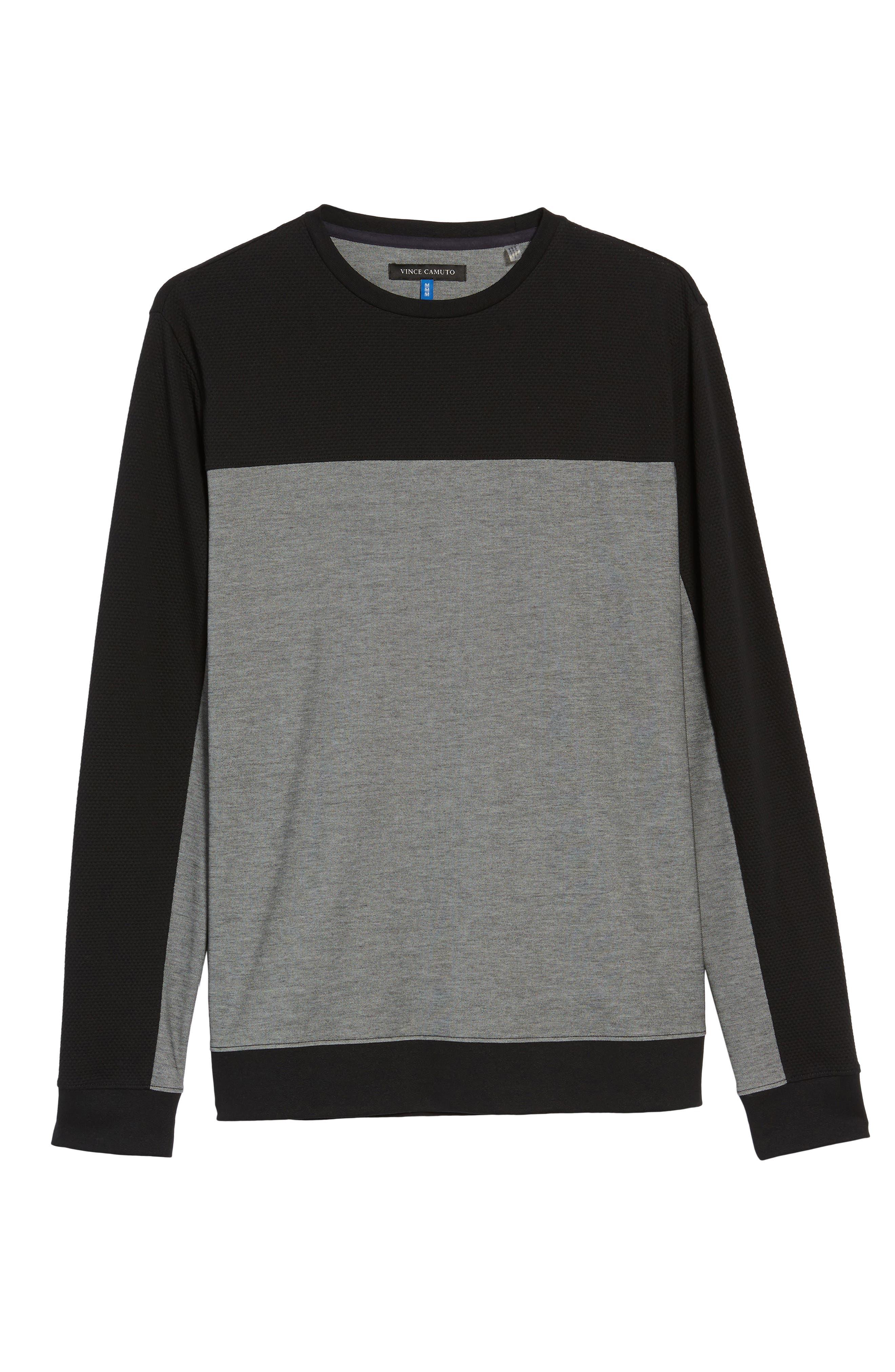 Alternate Image 5  - Vince Colorblock Slim Fit Crewneck Sweater