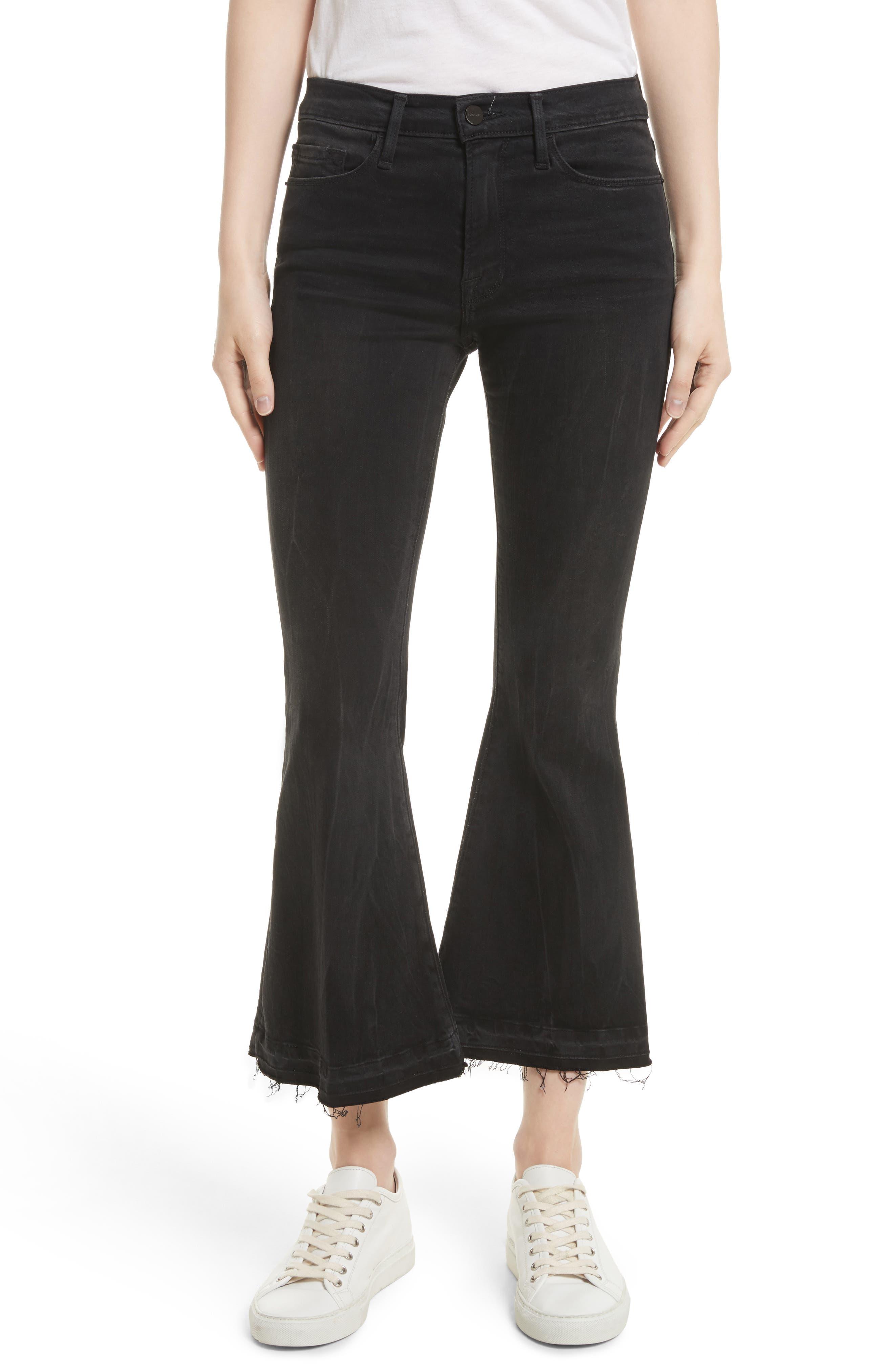 Frame Le Crop Bell Skinny Cargo Pants (Regular & Petite) (Garvey)