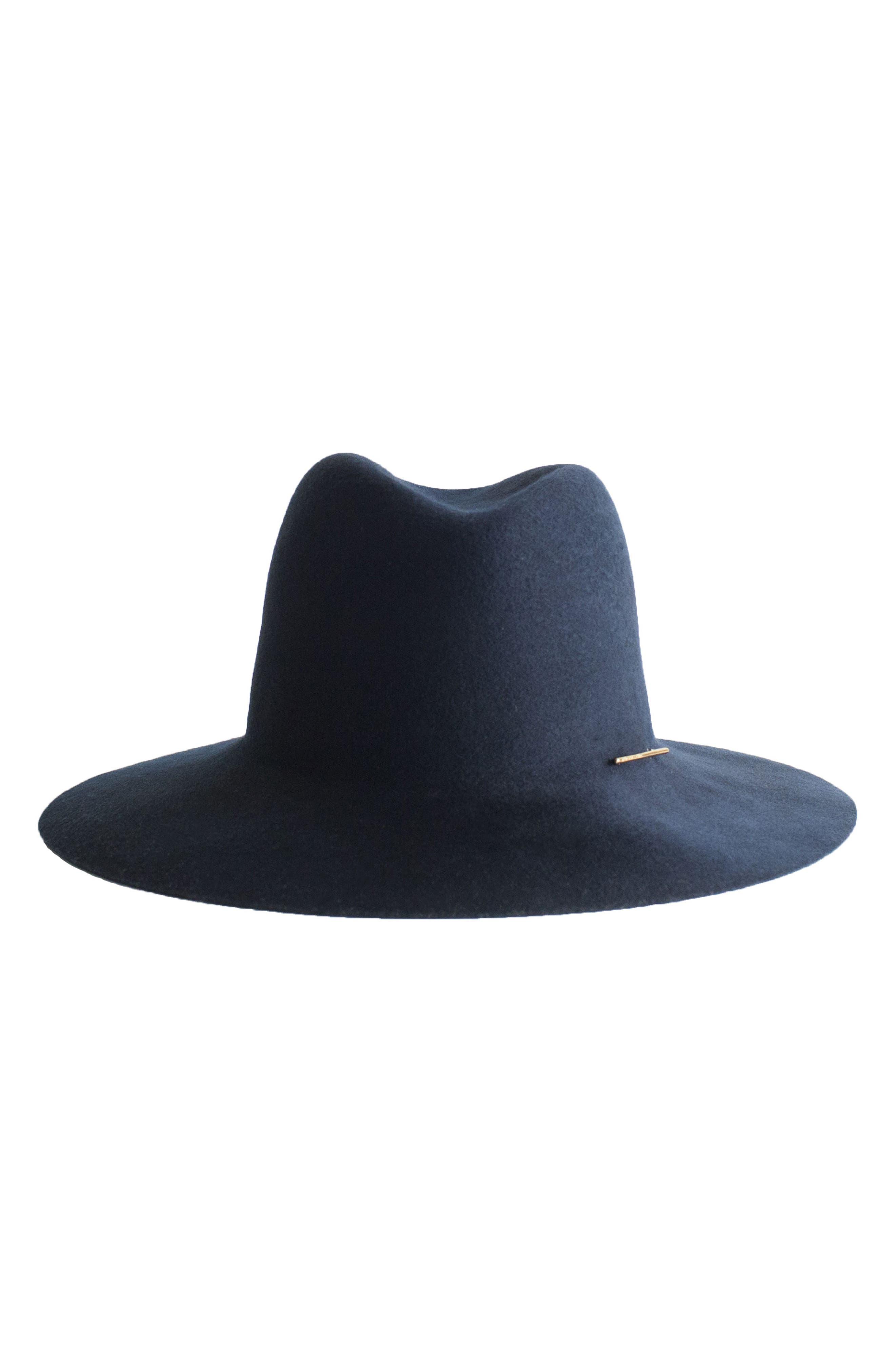 Taylor Wool Hat,                             Alternate thumbnail 2, color,                             Cadet Blue