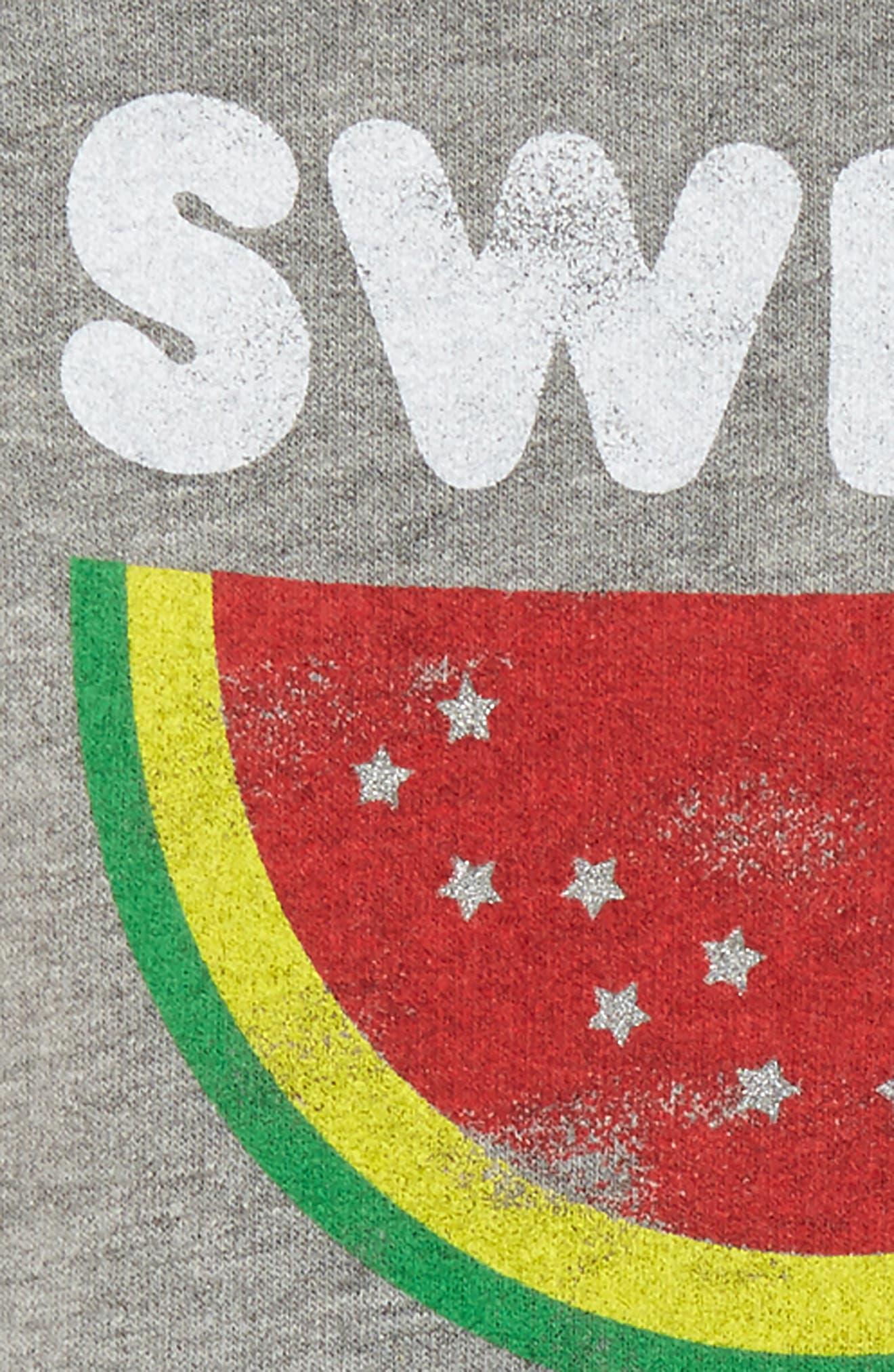 Alternate Image 2  - Peek Sweet Freedom Sweatshirt (Baby)