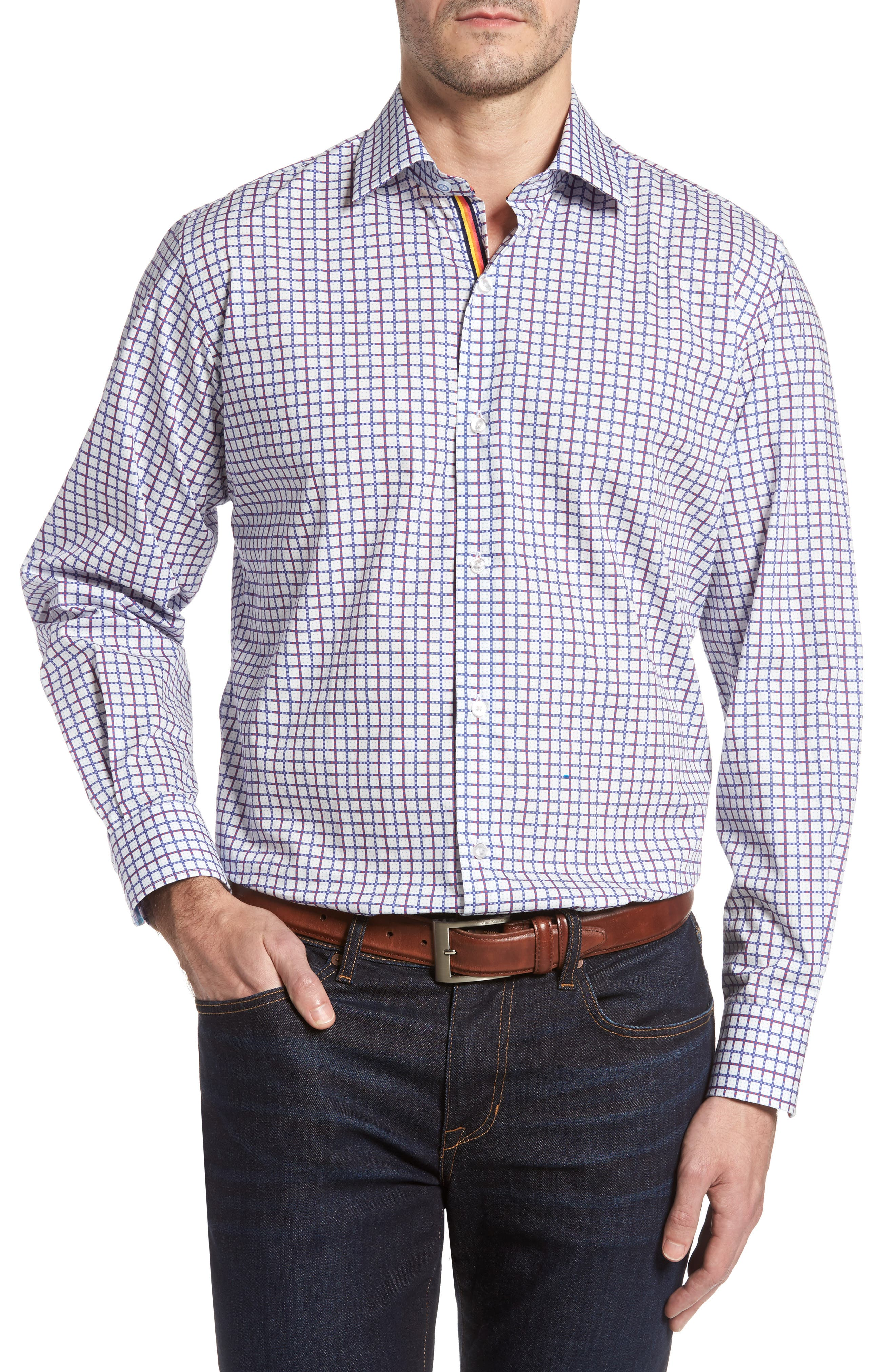 Alternate Image 1 Selected - TailorByrd Magnolia Sport Shirt