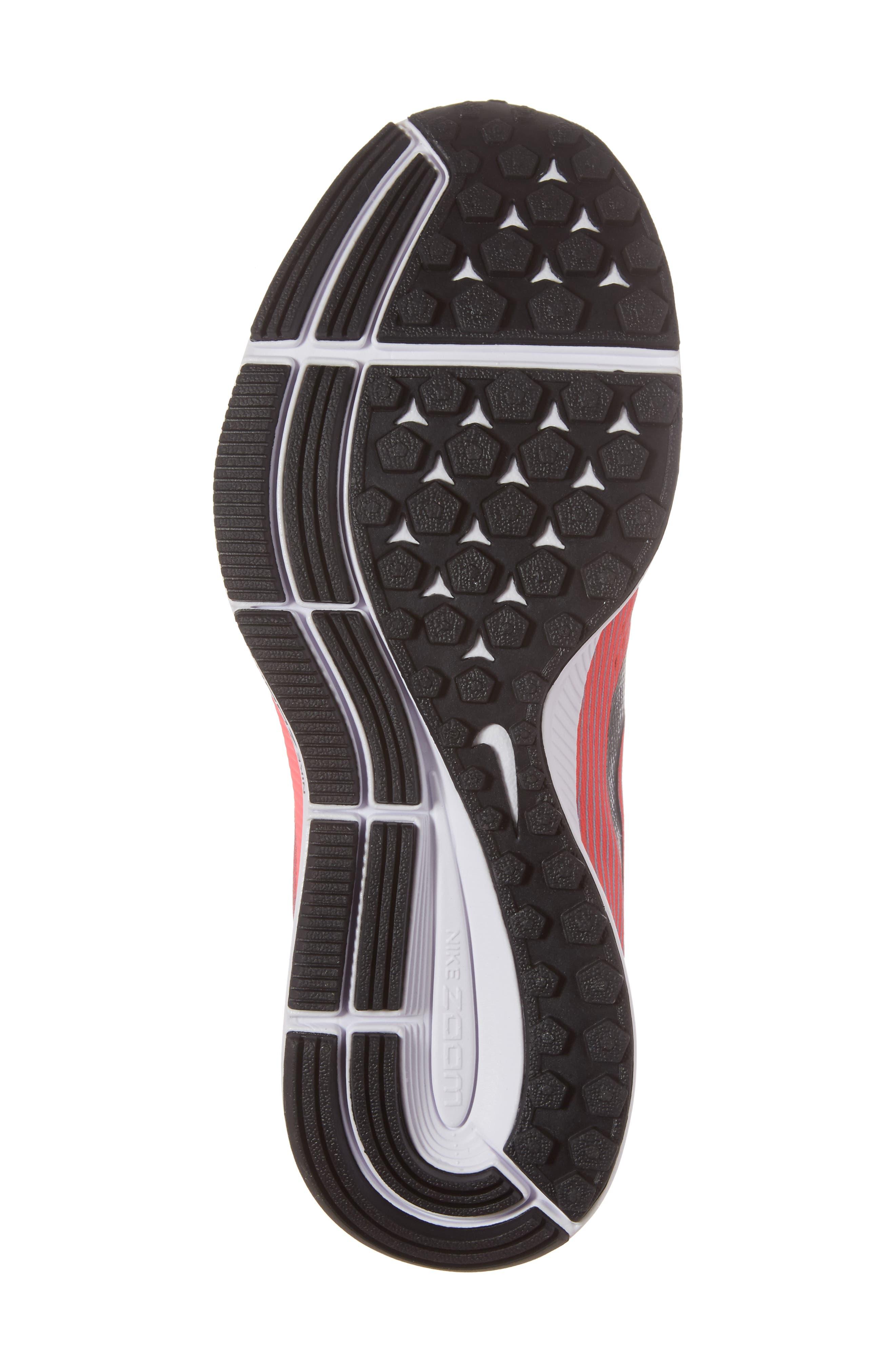 Air Zoom Pegasus 34 Running Shoe,                             Alternate thumbnail 6, color,                             Blue/ White/ Pink/ Fuchsia