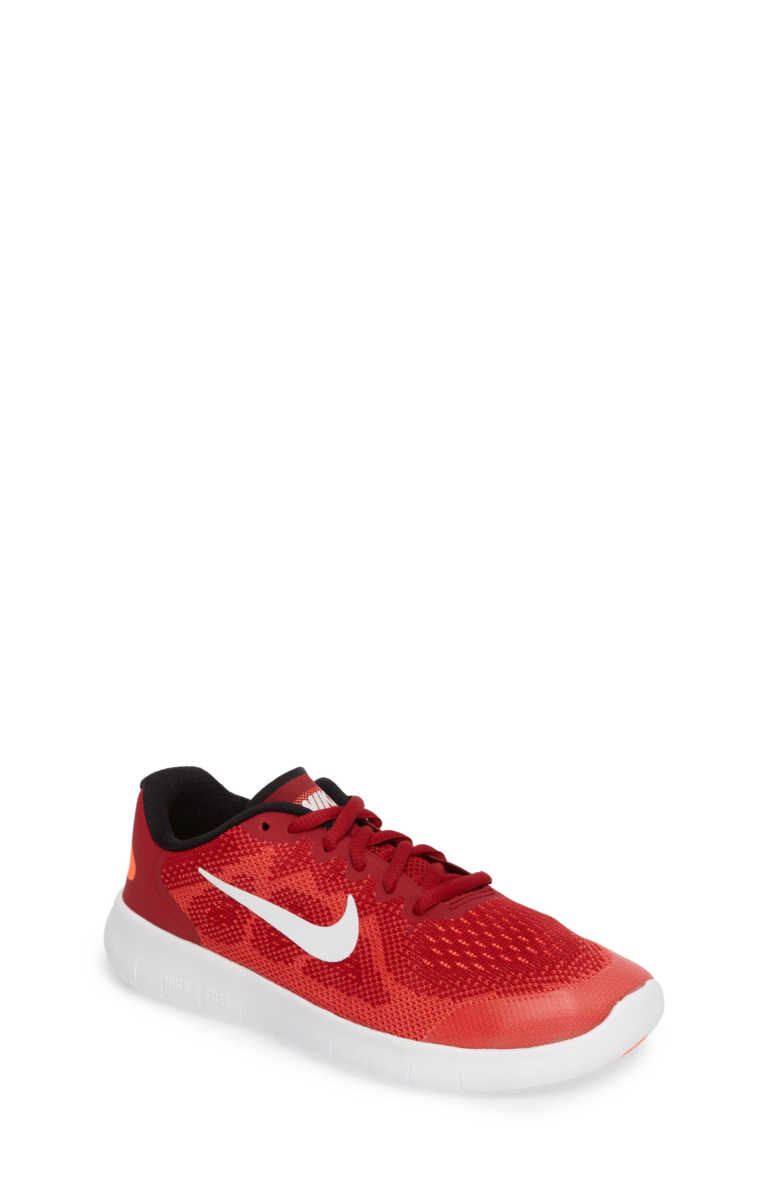 Alternate Image 1 Selected - Nike Free RN Running Shoe (Toddler, Little Kid & Big Kid)