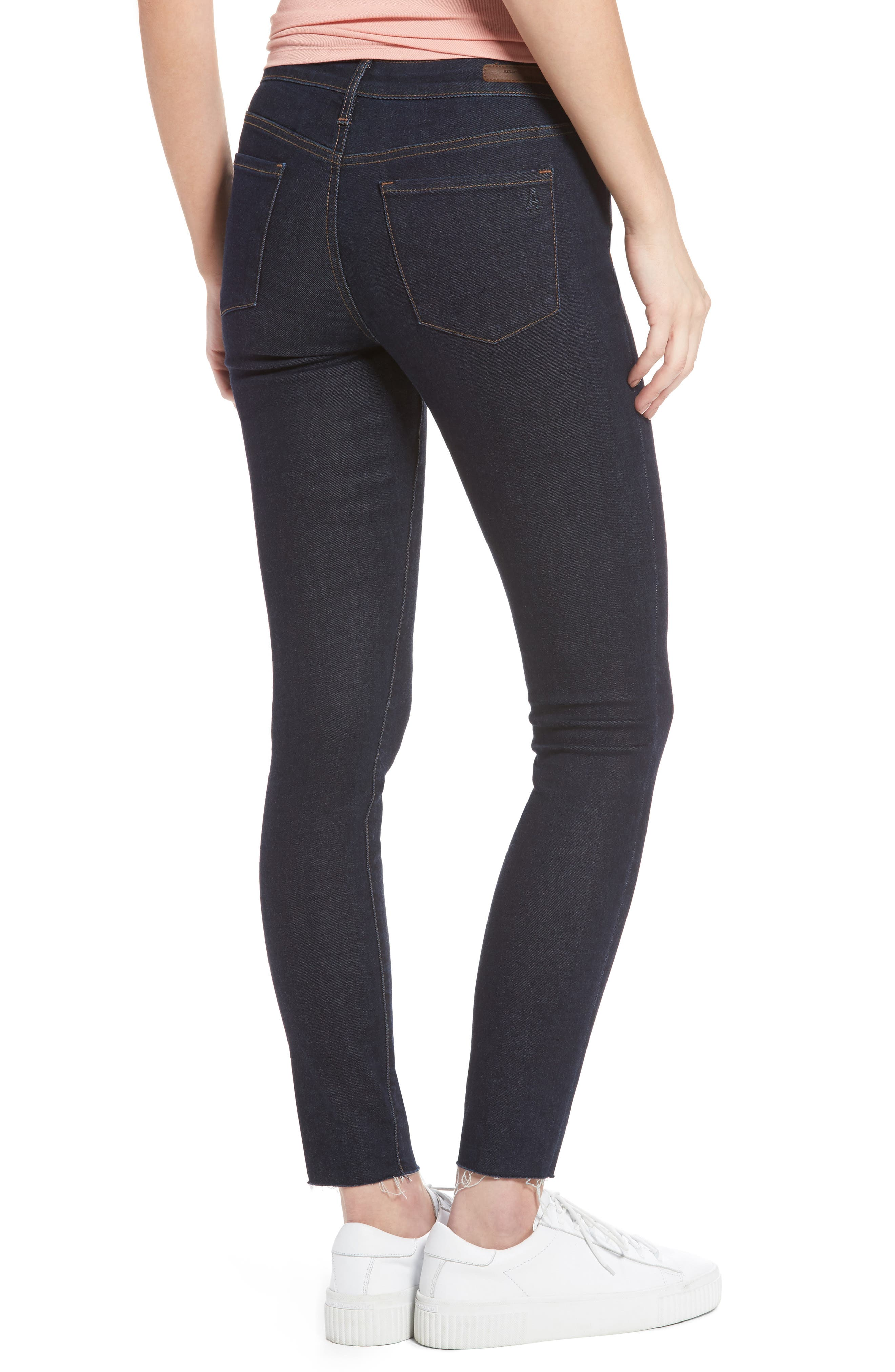 Alternate Image 3  - Articles of Society Sarah Ankle Skinny Jeans (Elm)