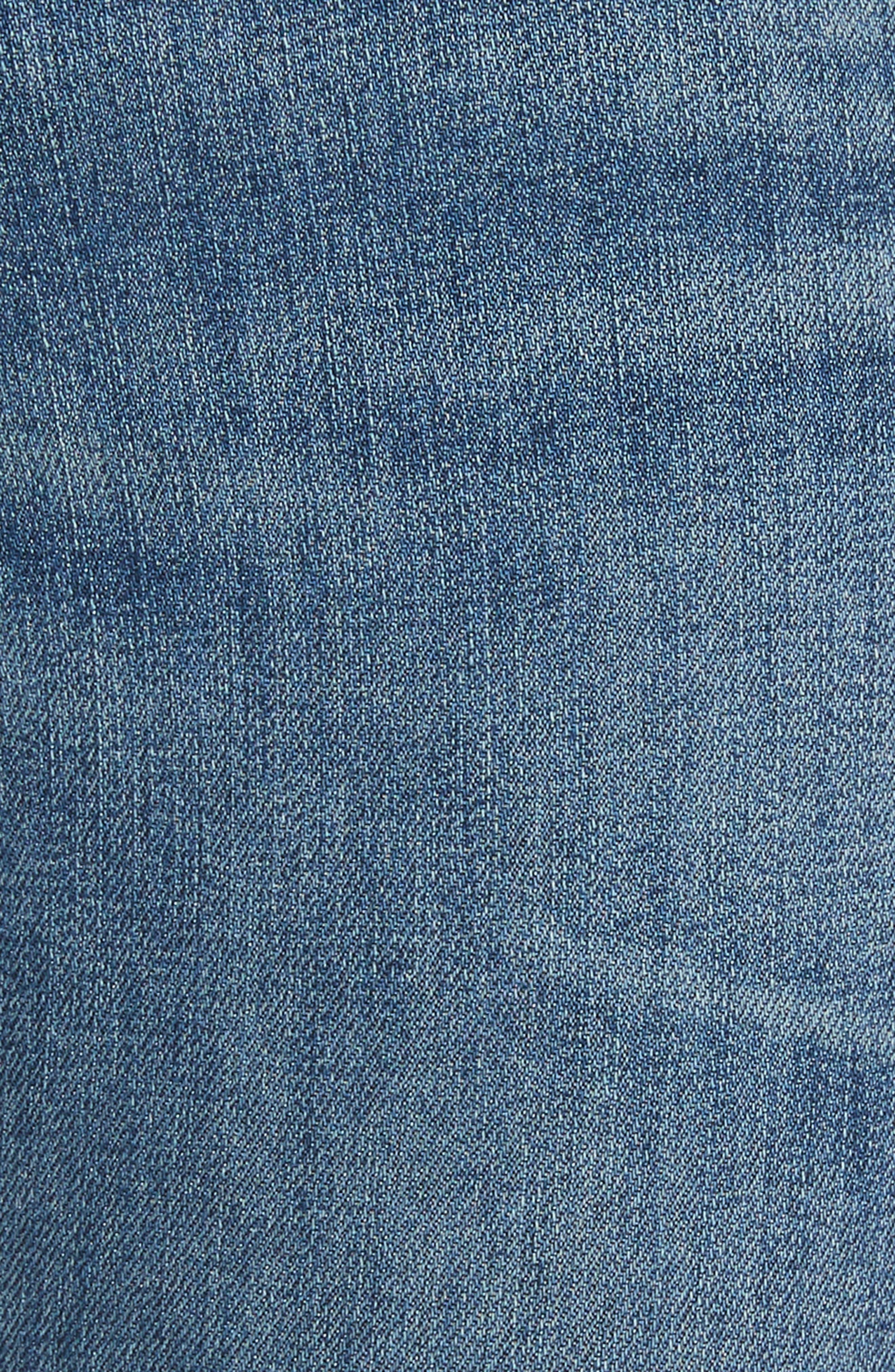 Alternate Image 6  - rag & bone/JEAN Skinny Jeans (Lucky Rouge)