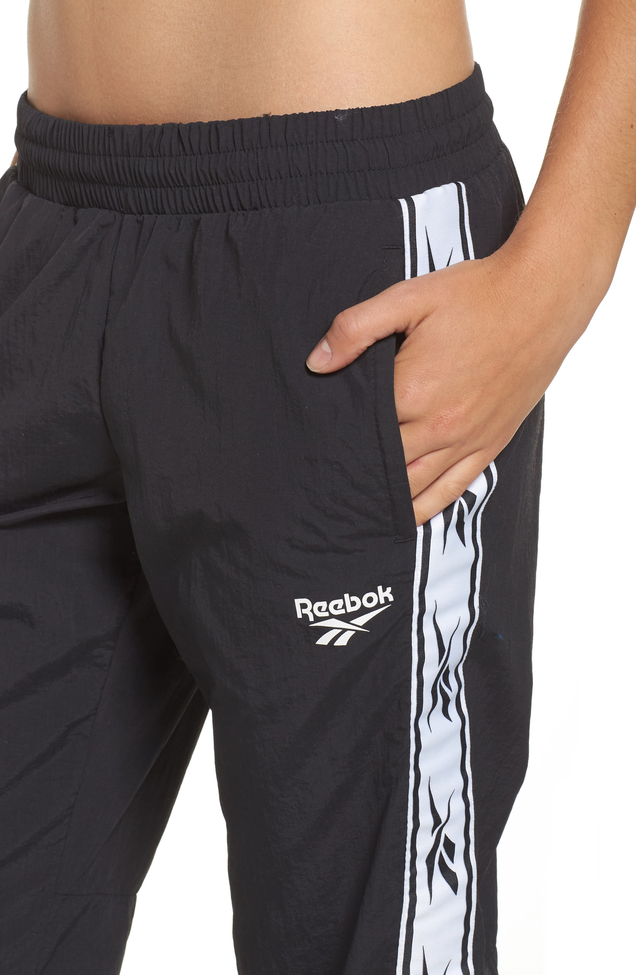 Alternate Image 4  - Reebok Logo Track Pants
