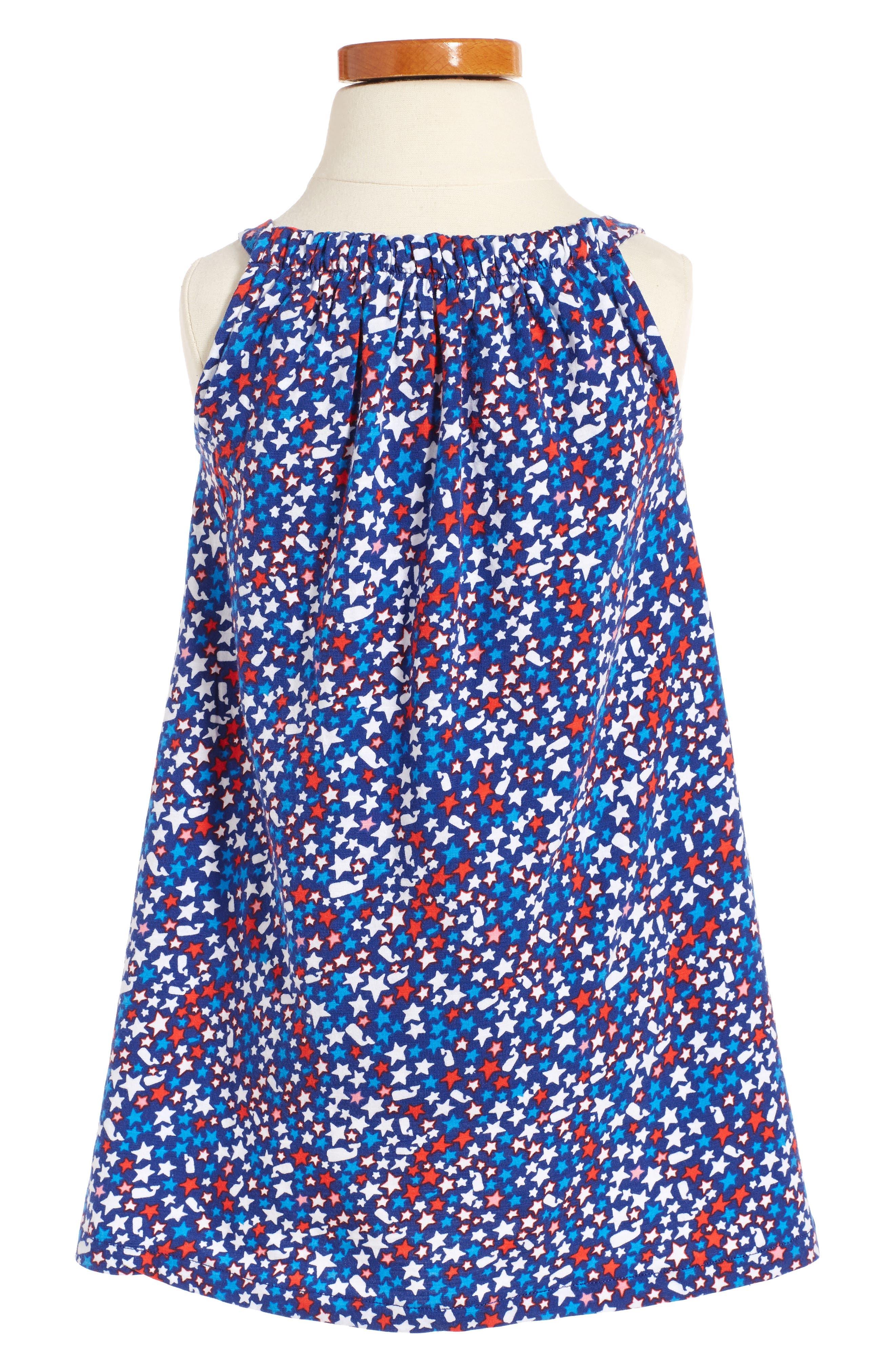 Alternate Image 2  - Vineyard Vines Stars & Whales Shift Dress (Toddler Girls)