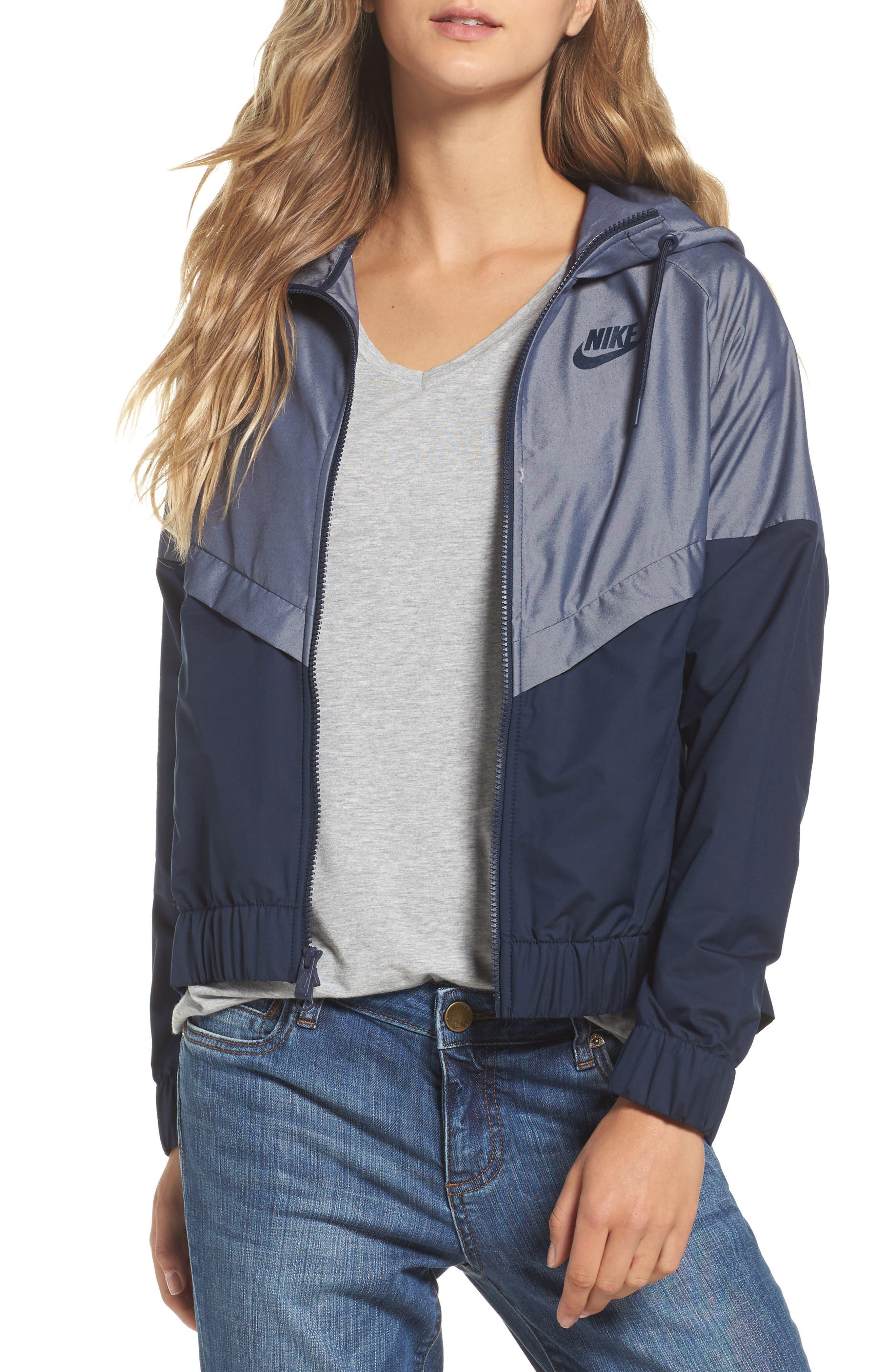 Main Image - Nike Chambray Drawstring Jacket