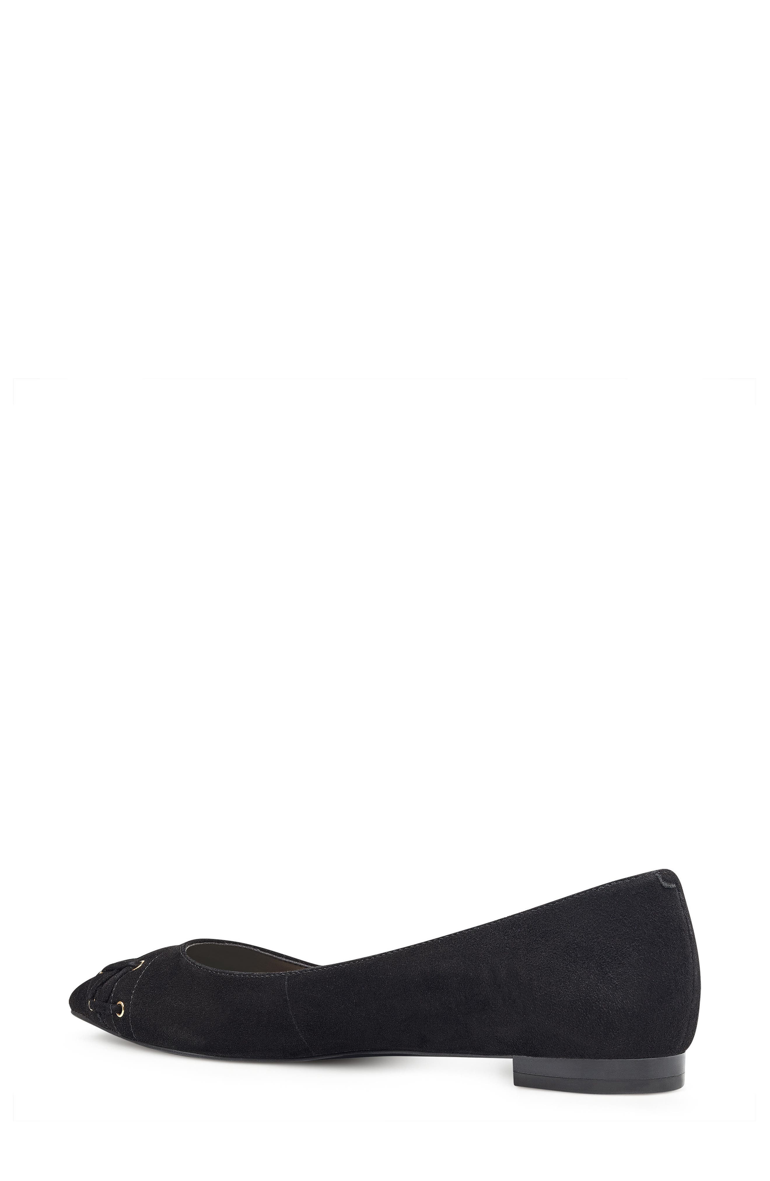 Alternate Image 6  - Nine West Alyssum Corset Skimmer Flat (Women)